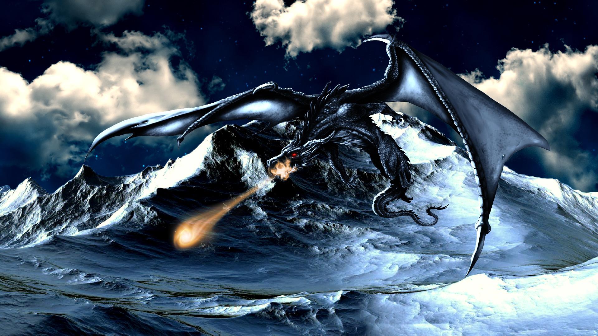 Картинки для рабочего стола и драконами