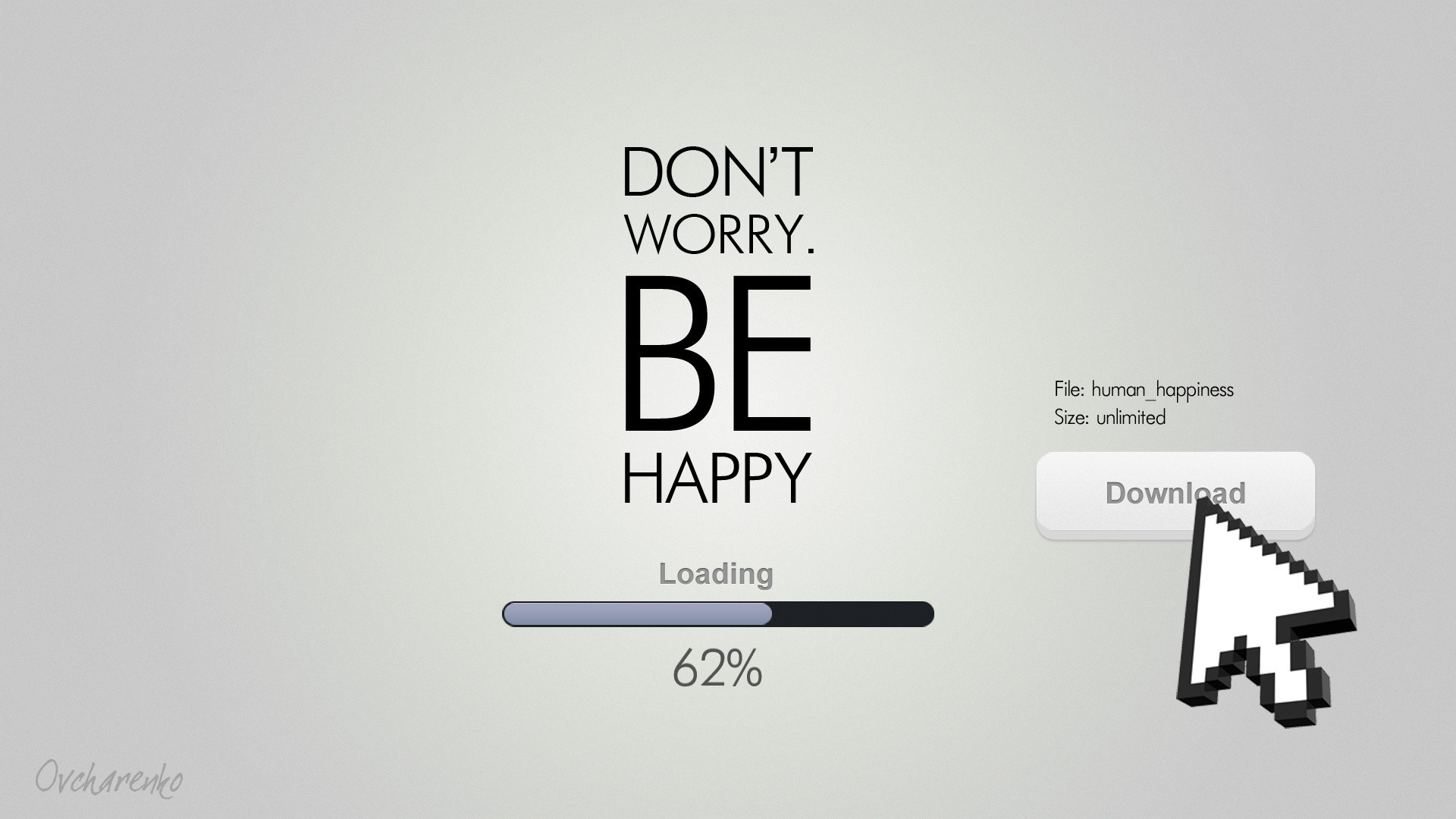 1920x1080 Be Happy Funny Quote Hd Wallpaper