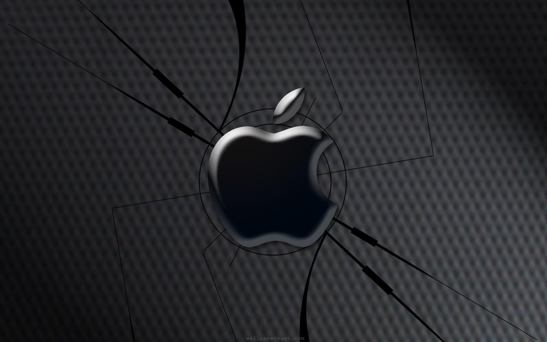 3d apple wallpaper ·①
