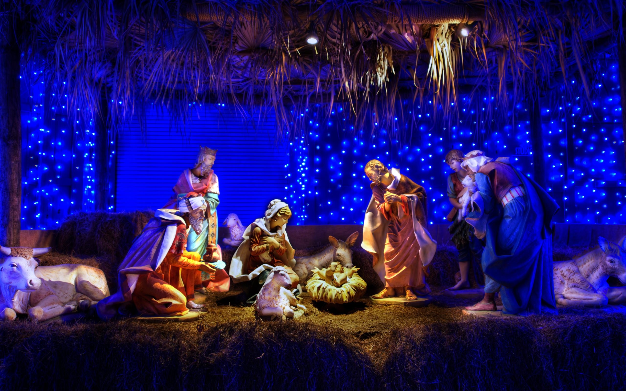Christmas nativity scene wallpaper download free hd - Pretty christmas pictures ...