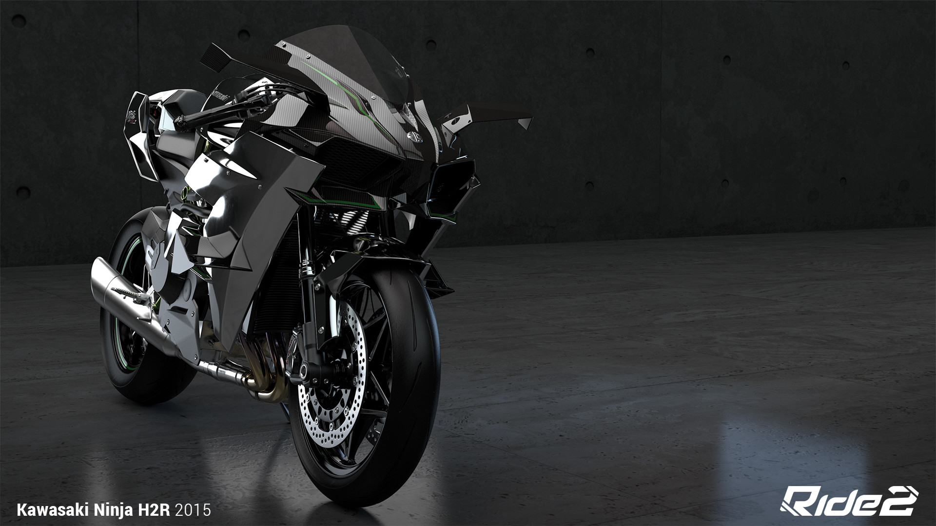 Kawasaki H2R Wallpaper