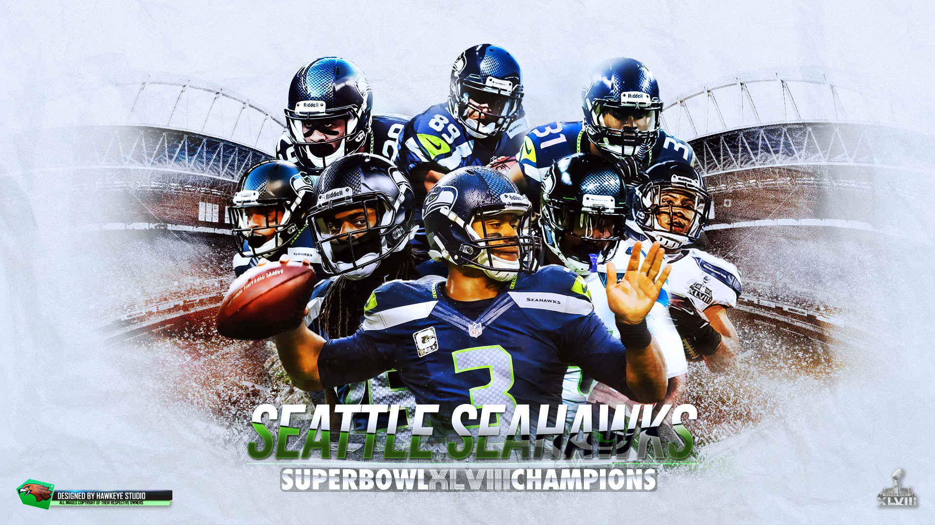 Seattle Seahawks Wallpaper 1920x1080: Seahawk Wallpaper ·①