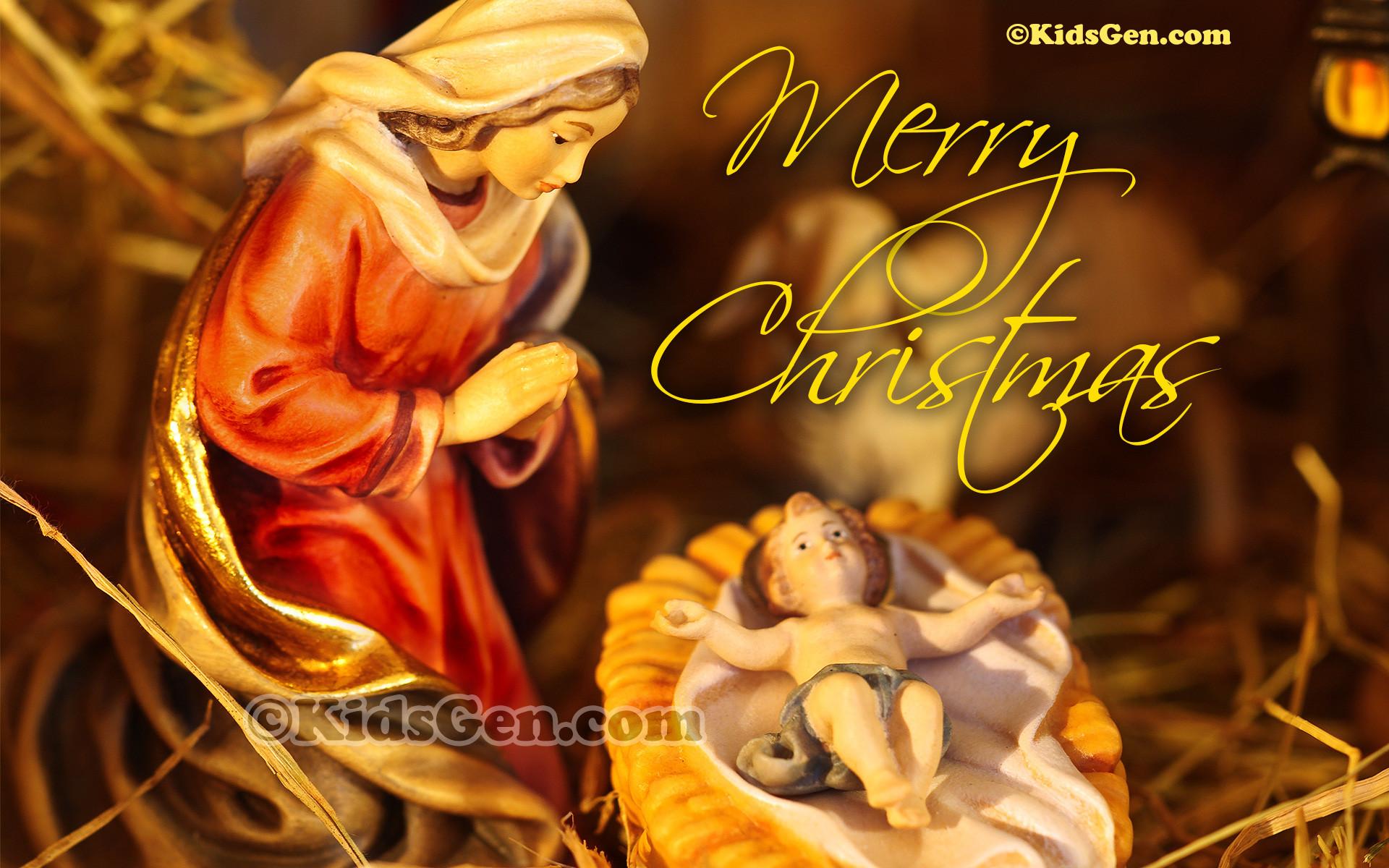 Christmas Jesus Wallpaper ·①