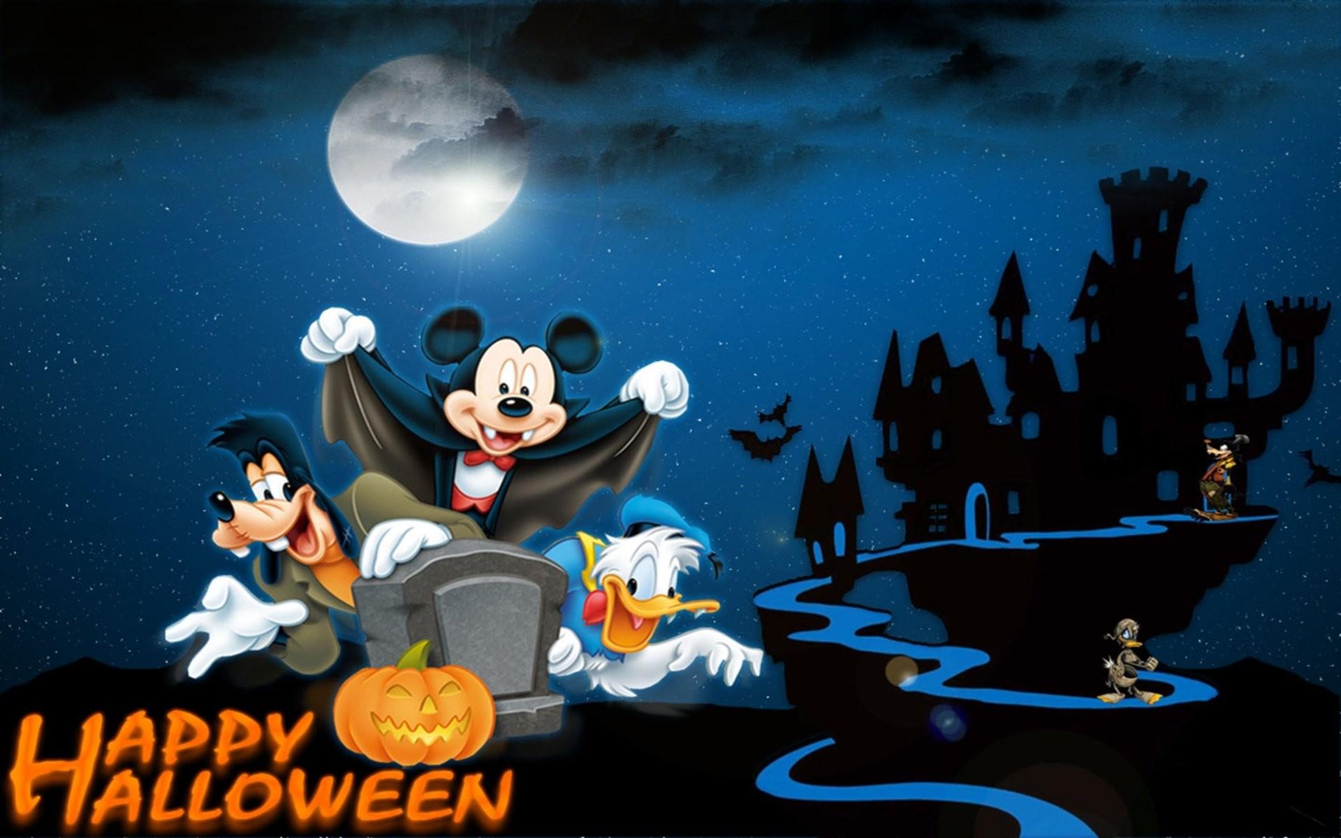 Disney Halloween Wallpaper Backgrounds ① Wallpapertag