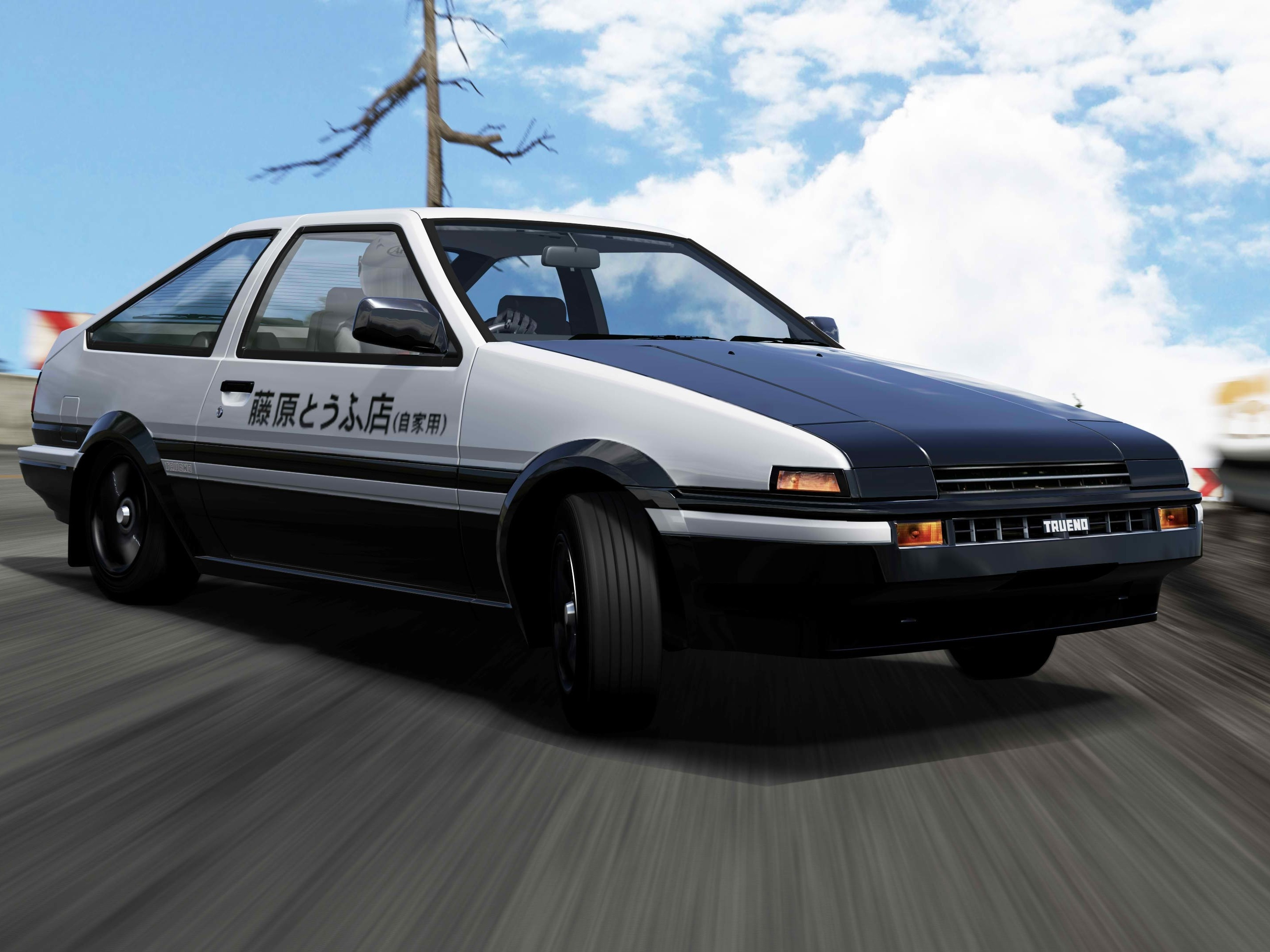Initial d wallpapers wallpapertag - Ae86 initial d wallpaper ...