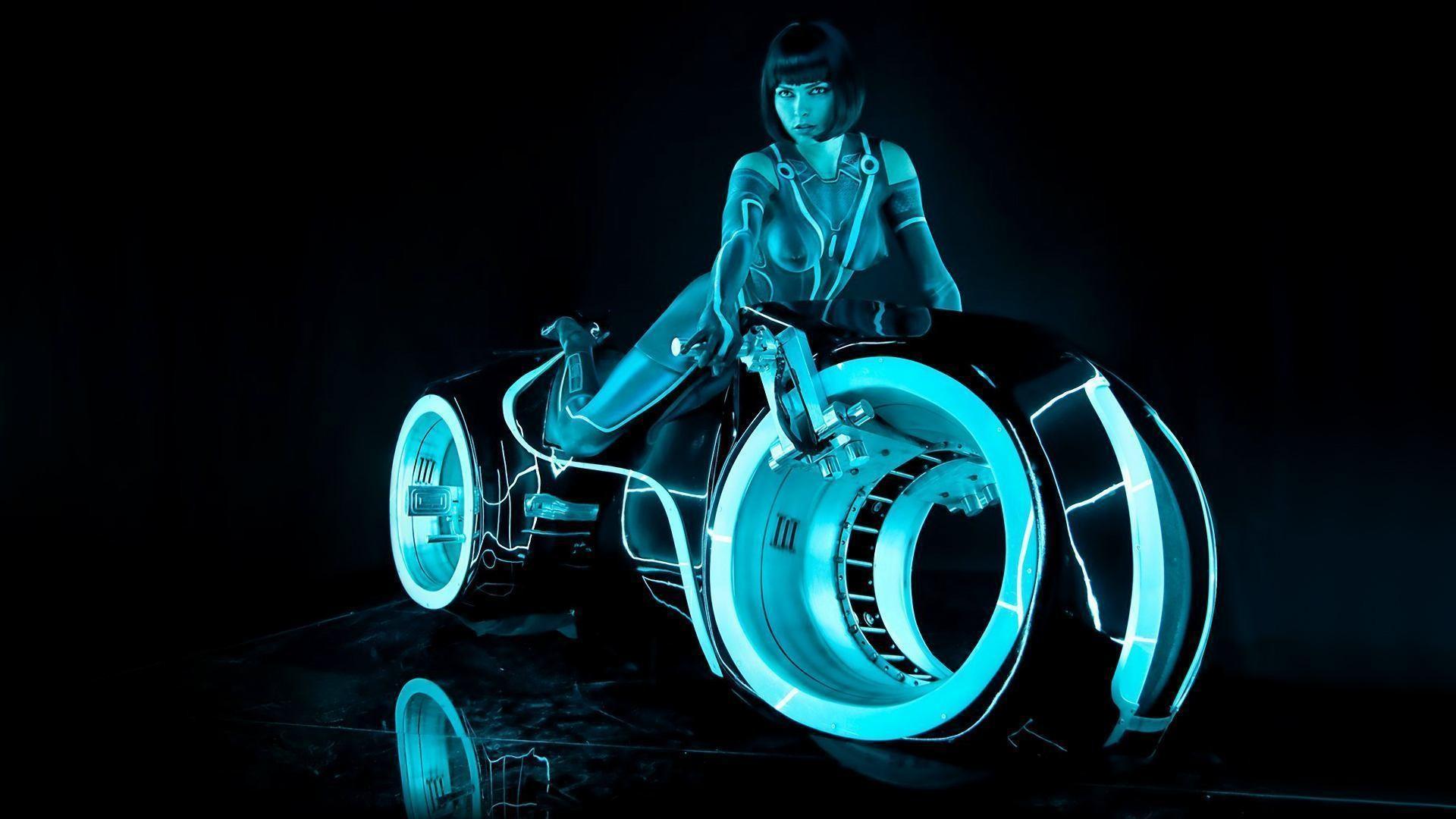 Tron неон мотоциклы  № 3312161 бесплатно
