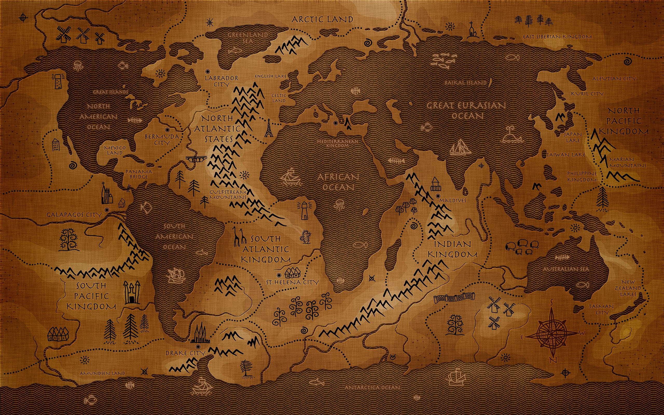 World map background download free stunning high resolution 3840x2160 wallpaper world gumiabroncs Image collections