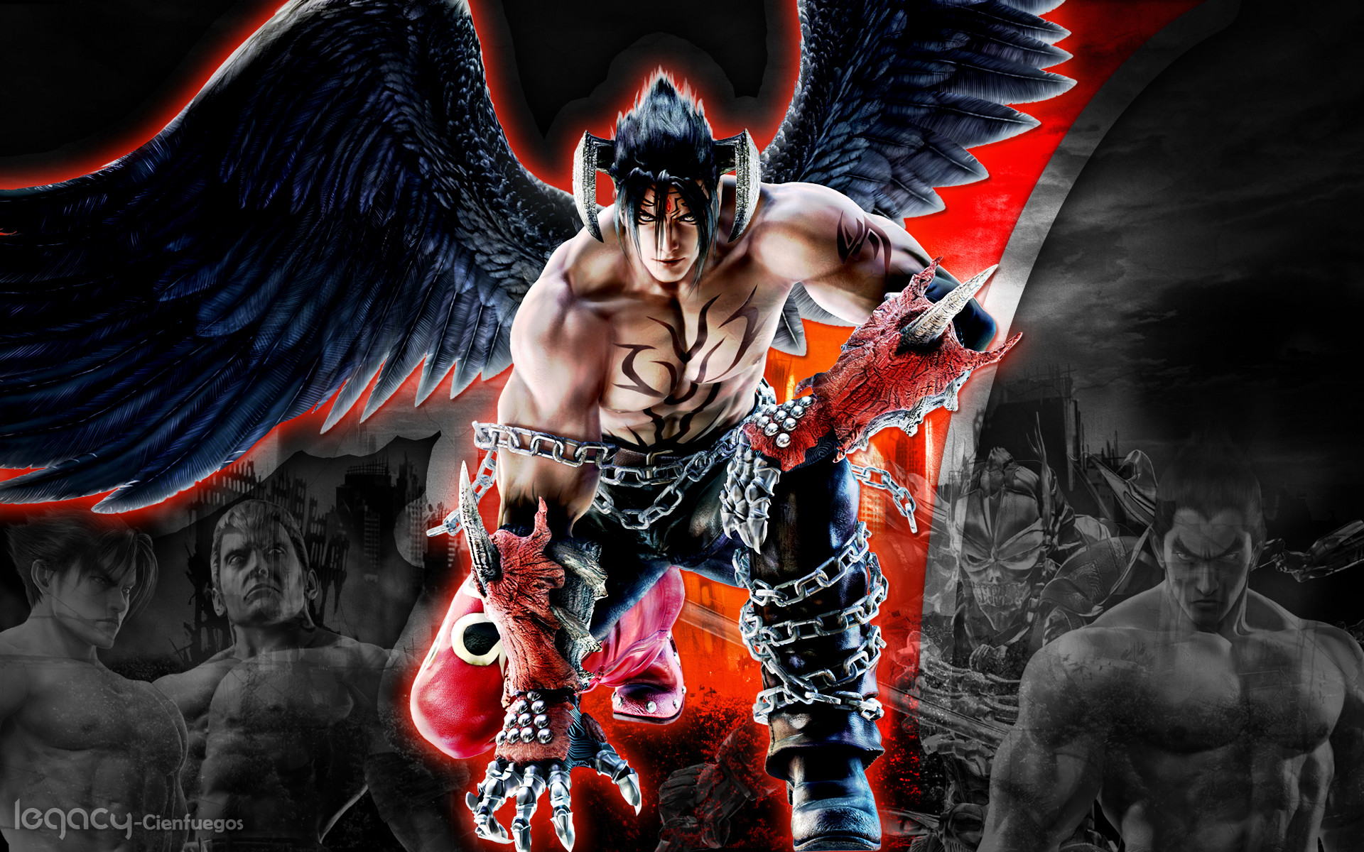 Jin Kazama Wallpaper Tekken 6 ①