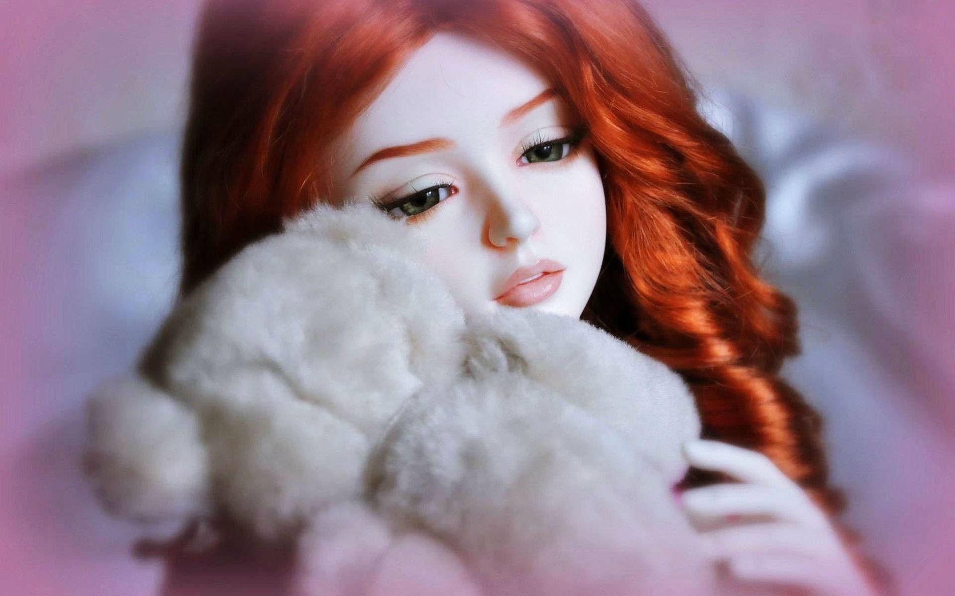 Cute Doll Wallpaper ①