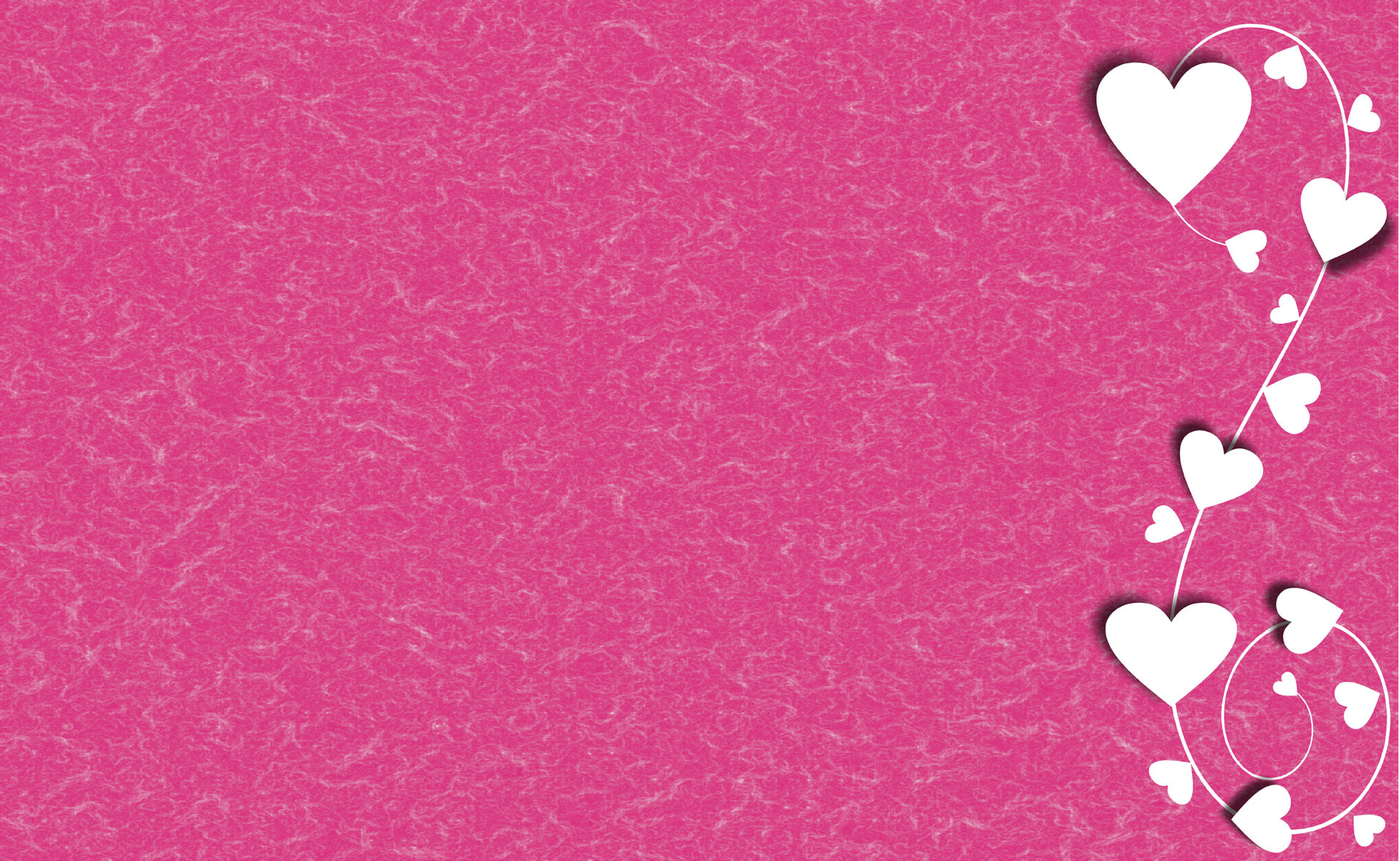 Pink Love Heart Backgrounds ·①