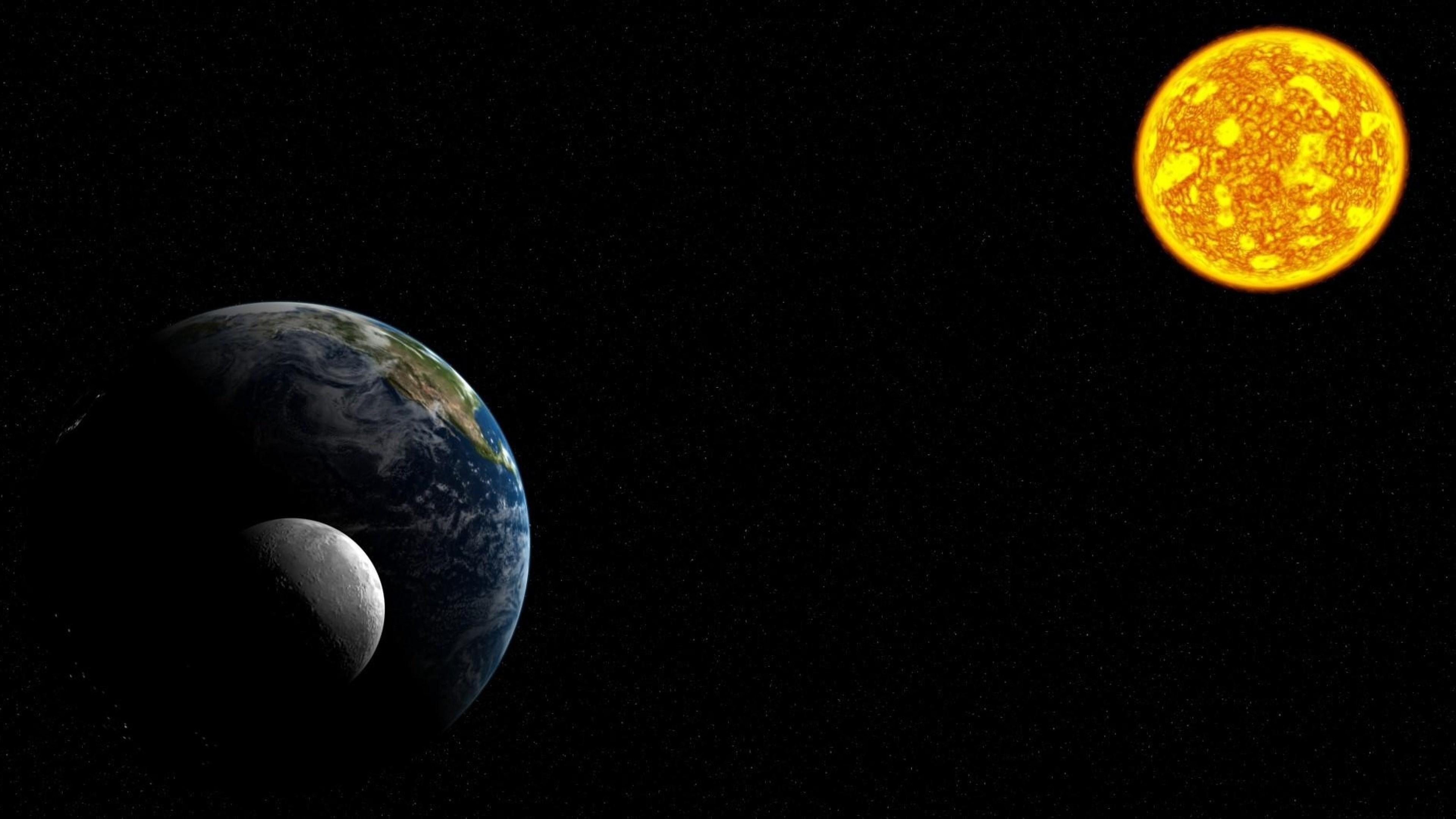 earth like moon - HD1920×1060