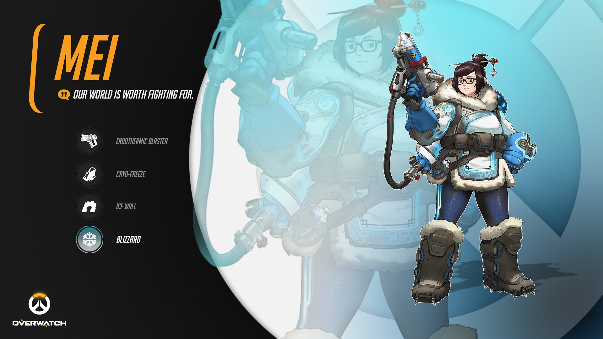 overwatch mei wallpaper ·① download free wallpapers for desktop and