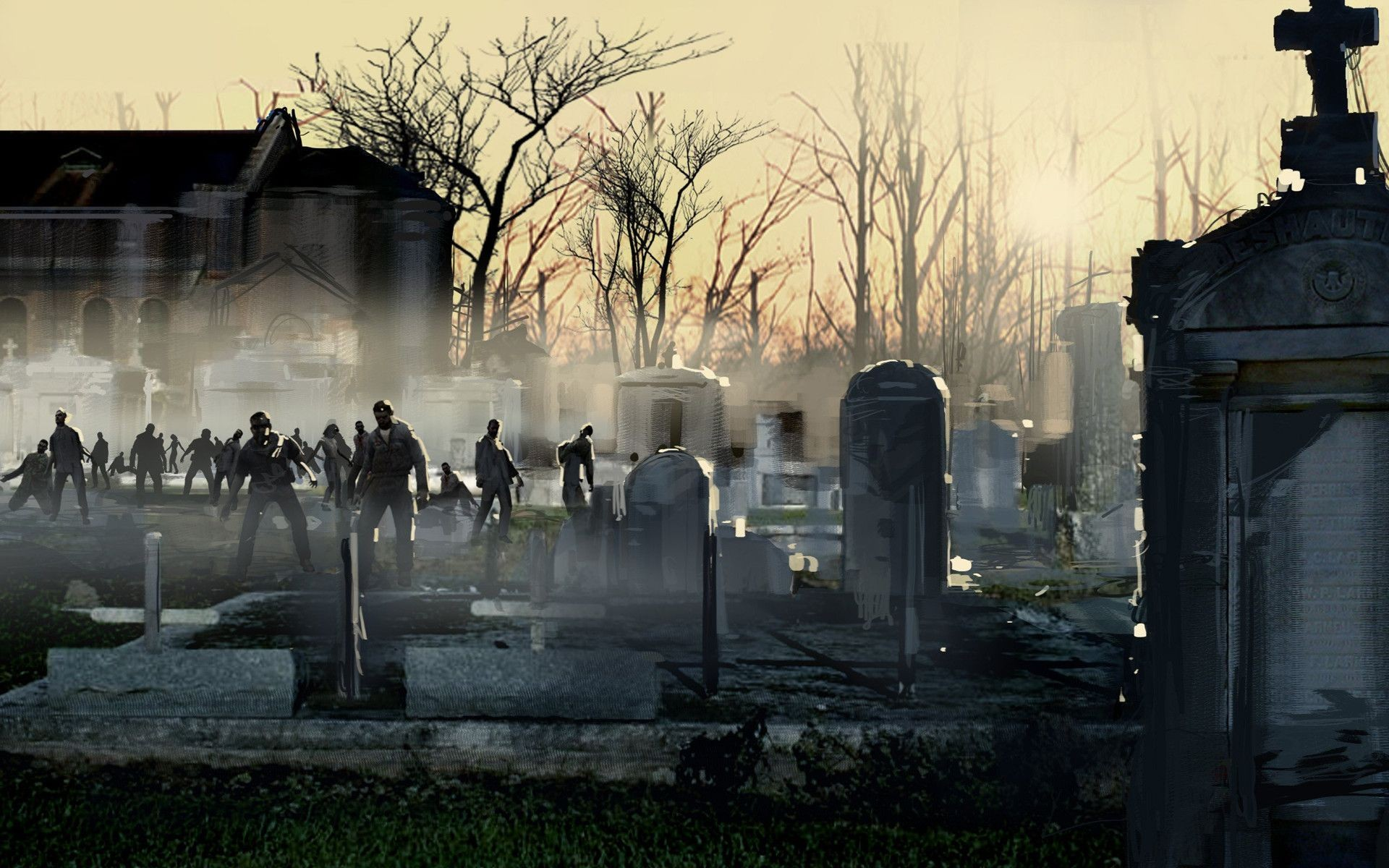 Zombies Wallpaper Download Free Cool Full Hd Backgrounds For