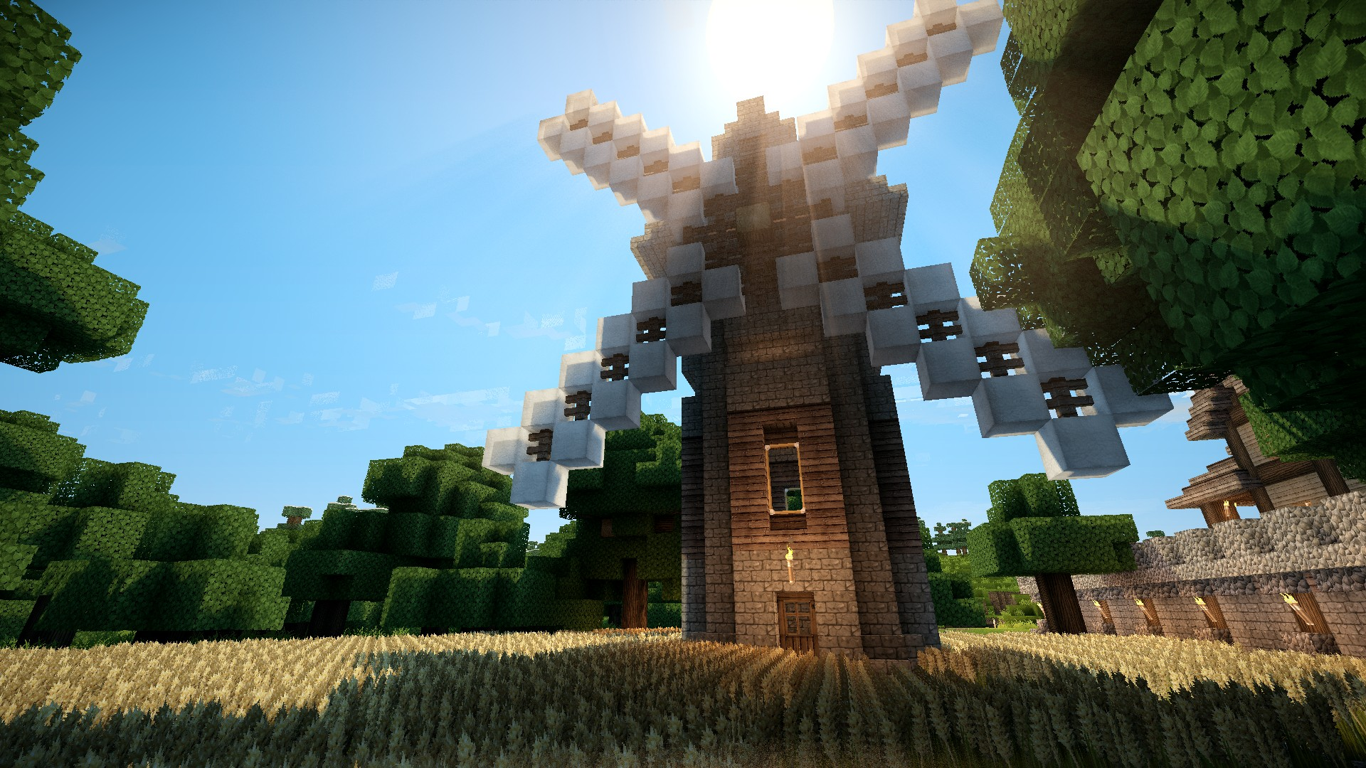 Minecraft With Shaders HD