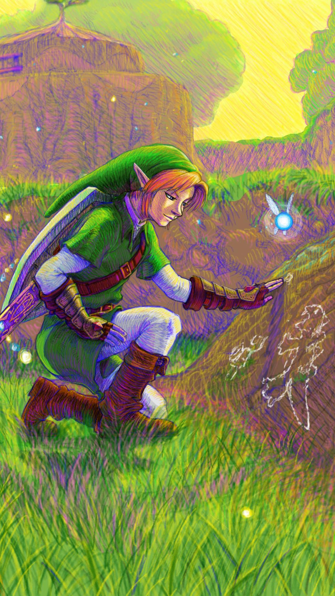 1080x1920 Zelda Wallpaper Wallpaper Desktop Hd