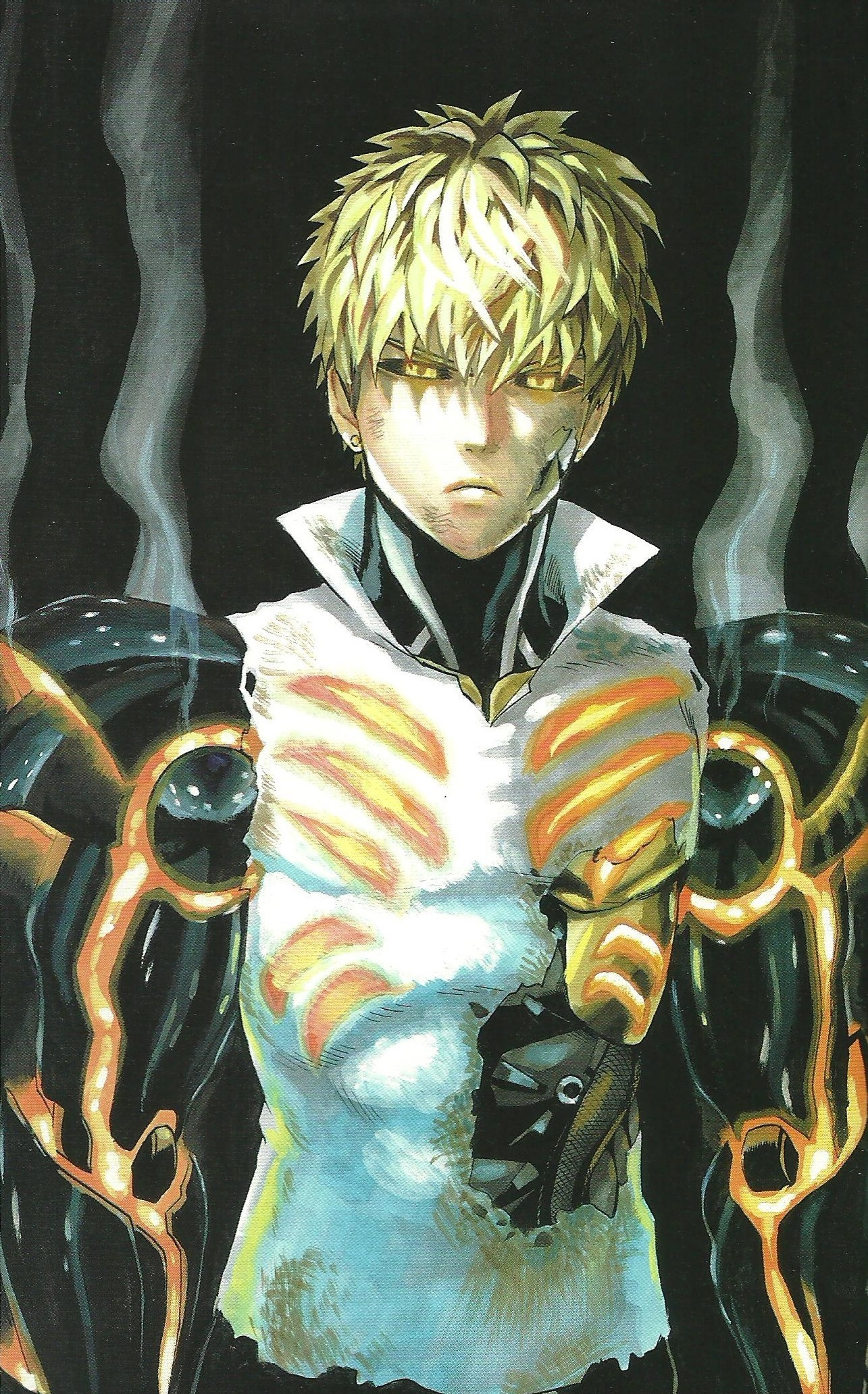 One Punch Man Genos wallpaper ·① Download free backgrounds for desktop and mobile devices in any ...