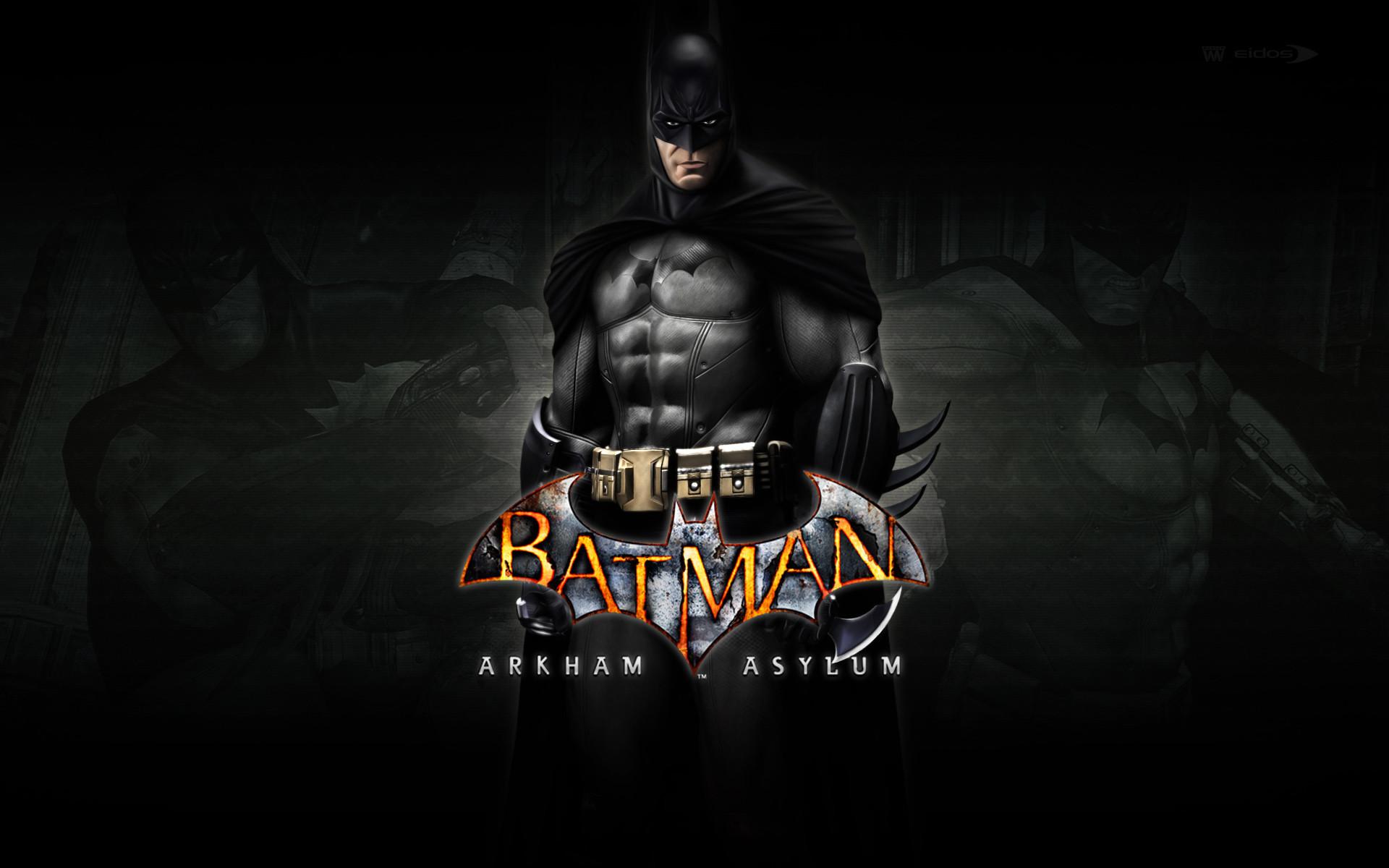 Batman Arkham Logo Wallpaper