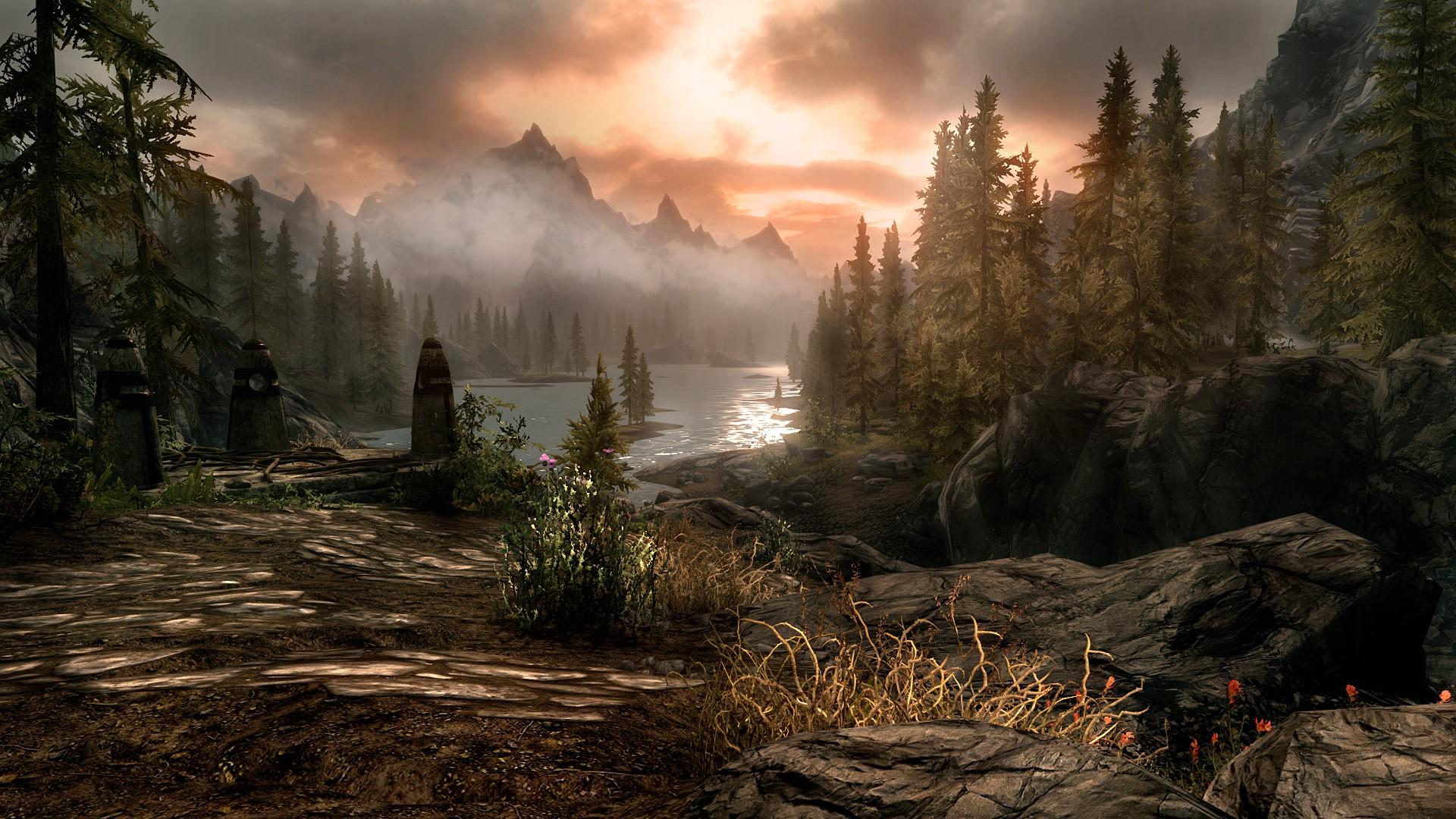 Skyrim HD Wallpaper ·① Download Free Beautiful High