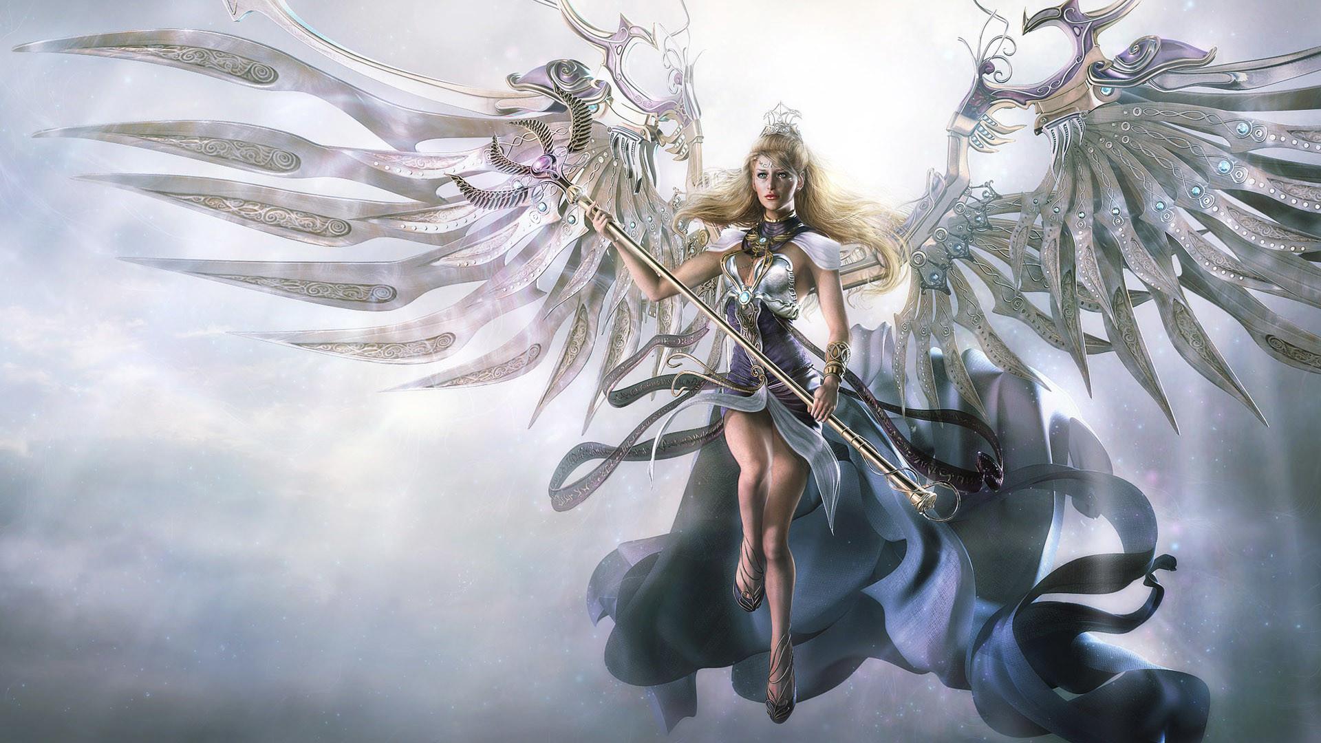 Fantasy Angel Wallpaper Wallpapertag