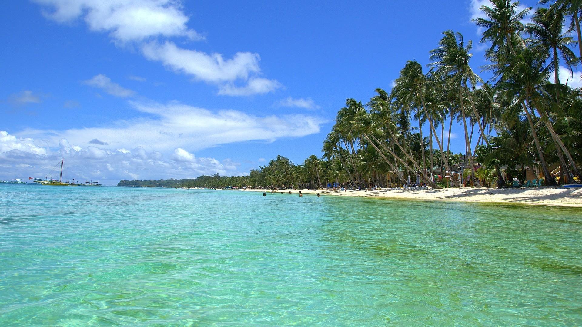 Hd Tropical Island Beach Paradise Wallpapers And Backgrounds: Tropical Beach Wallpaper Desktop ·① WallpaperTag