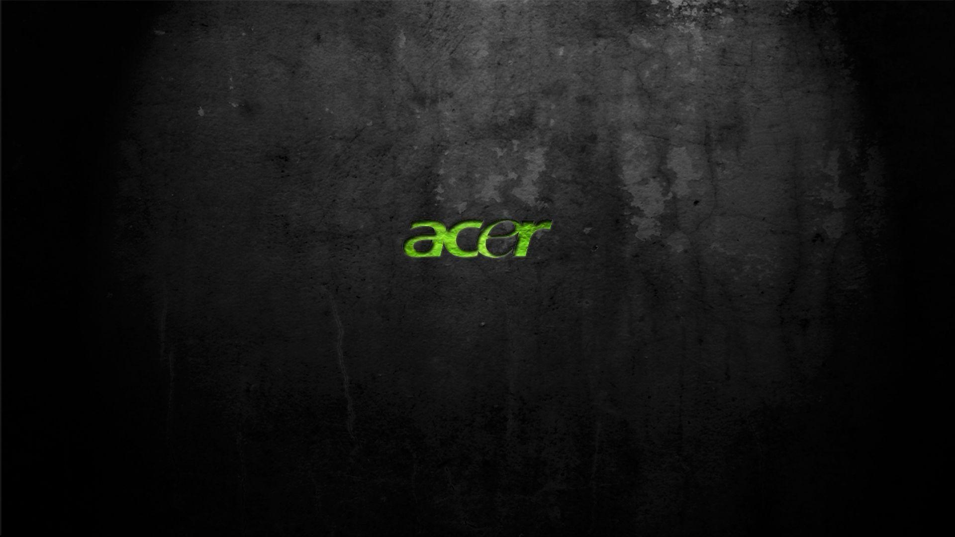 1920x1080 Acer Hd Green Wallpaper