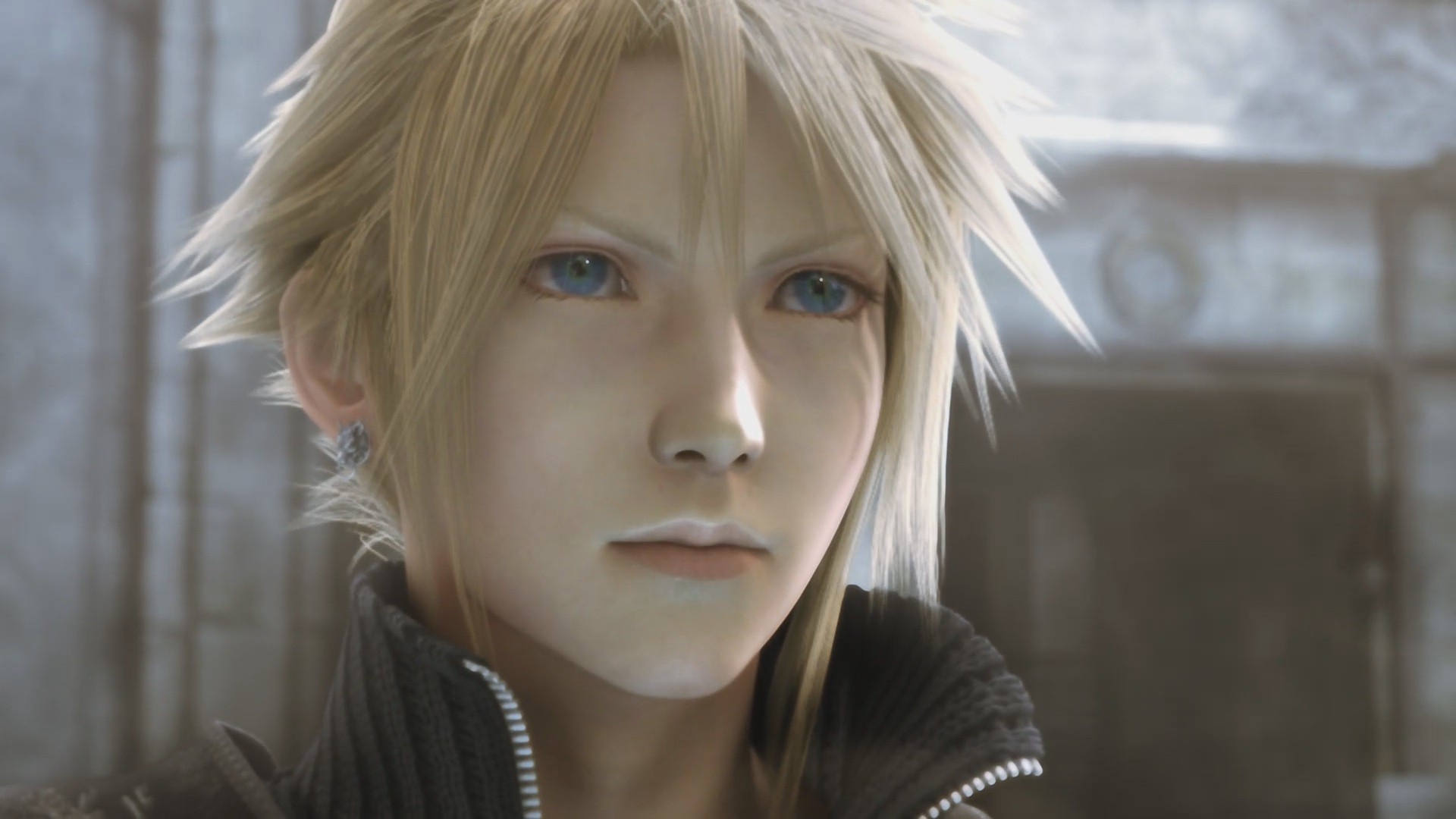 cloud strife advent children wallpaper 183��
