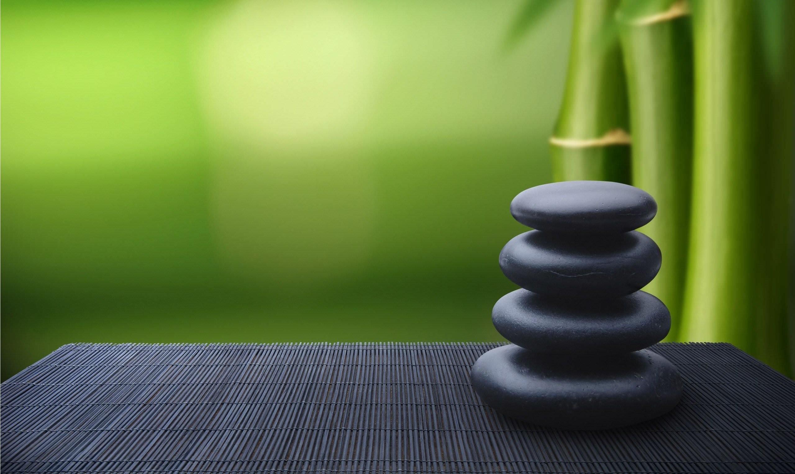 2560x1527 ZEN Mood Bokeh Garden Buddhism Religion Wallpaper Download HD