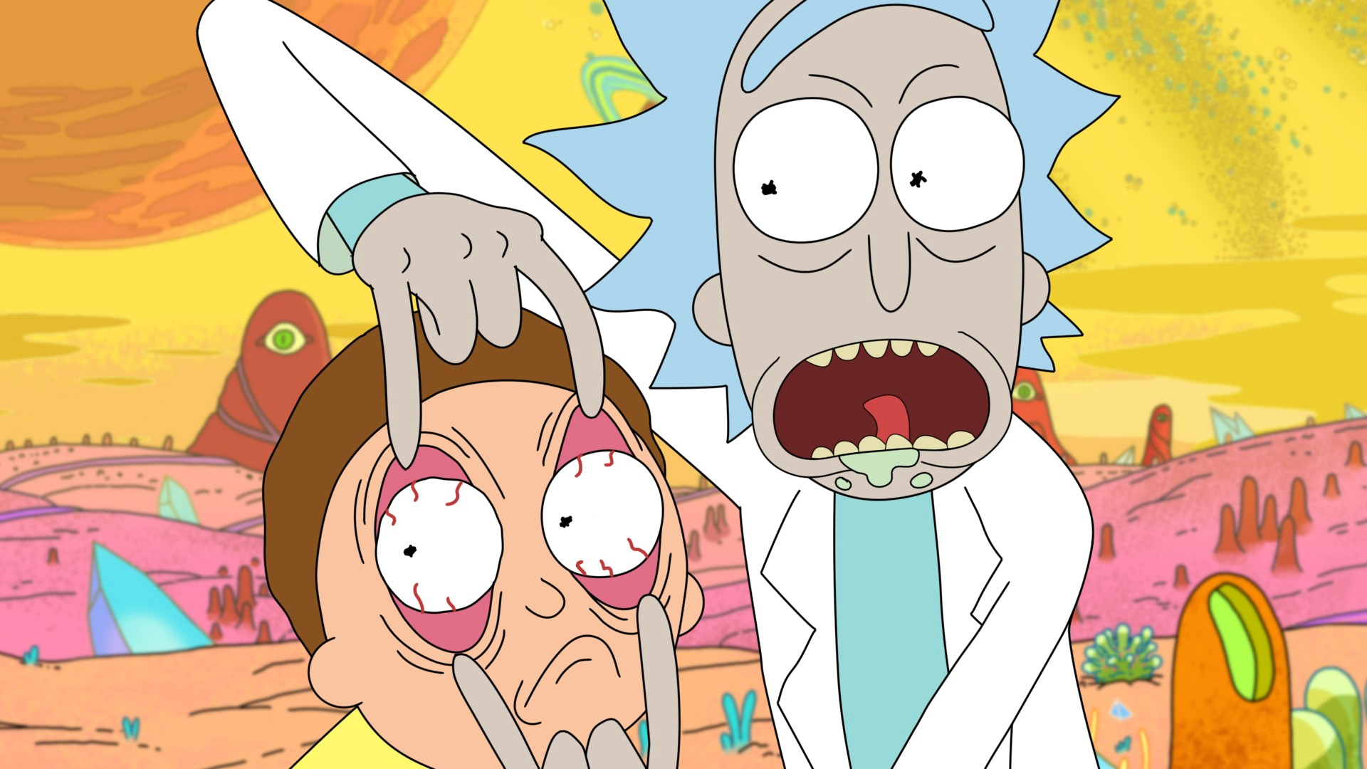 Rick And Morty Background Download Free Amazing High