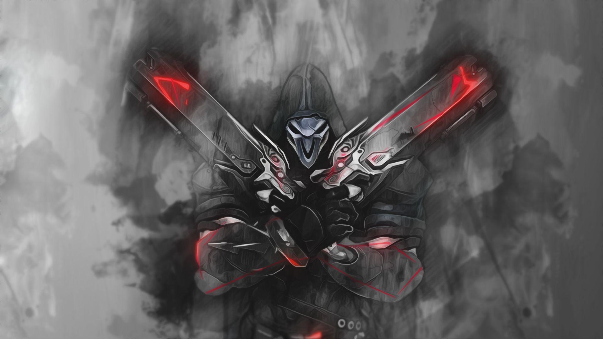 Reaper overwatch wallpaper download free amazing full - Reaper wallpaper ...
