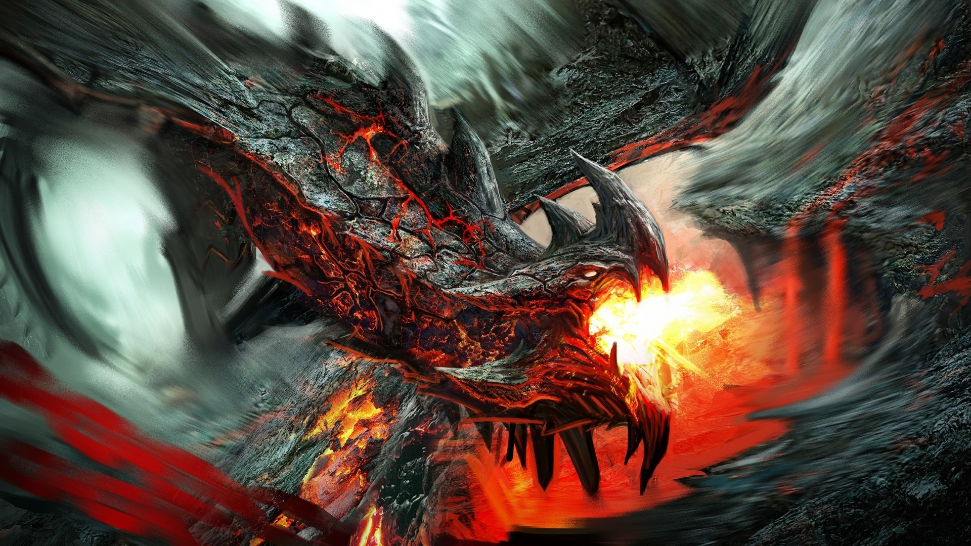 Hd dragon wallpaper wallpapertag - Dragon backgrounds 1920x1080 ...