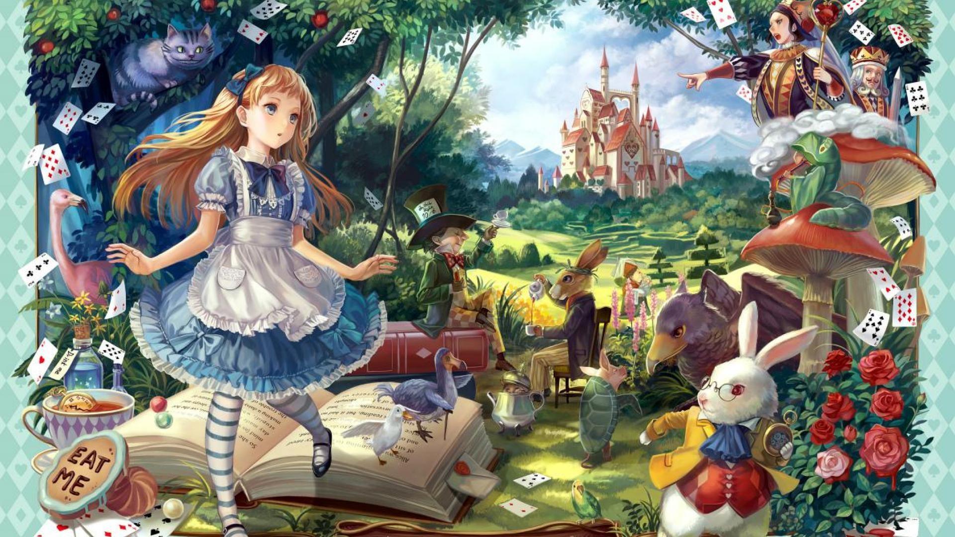 Alice in Wonderland background ·① Download free stunning ...