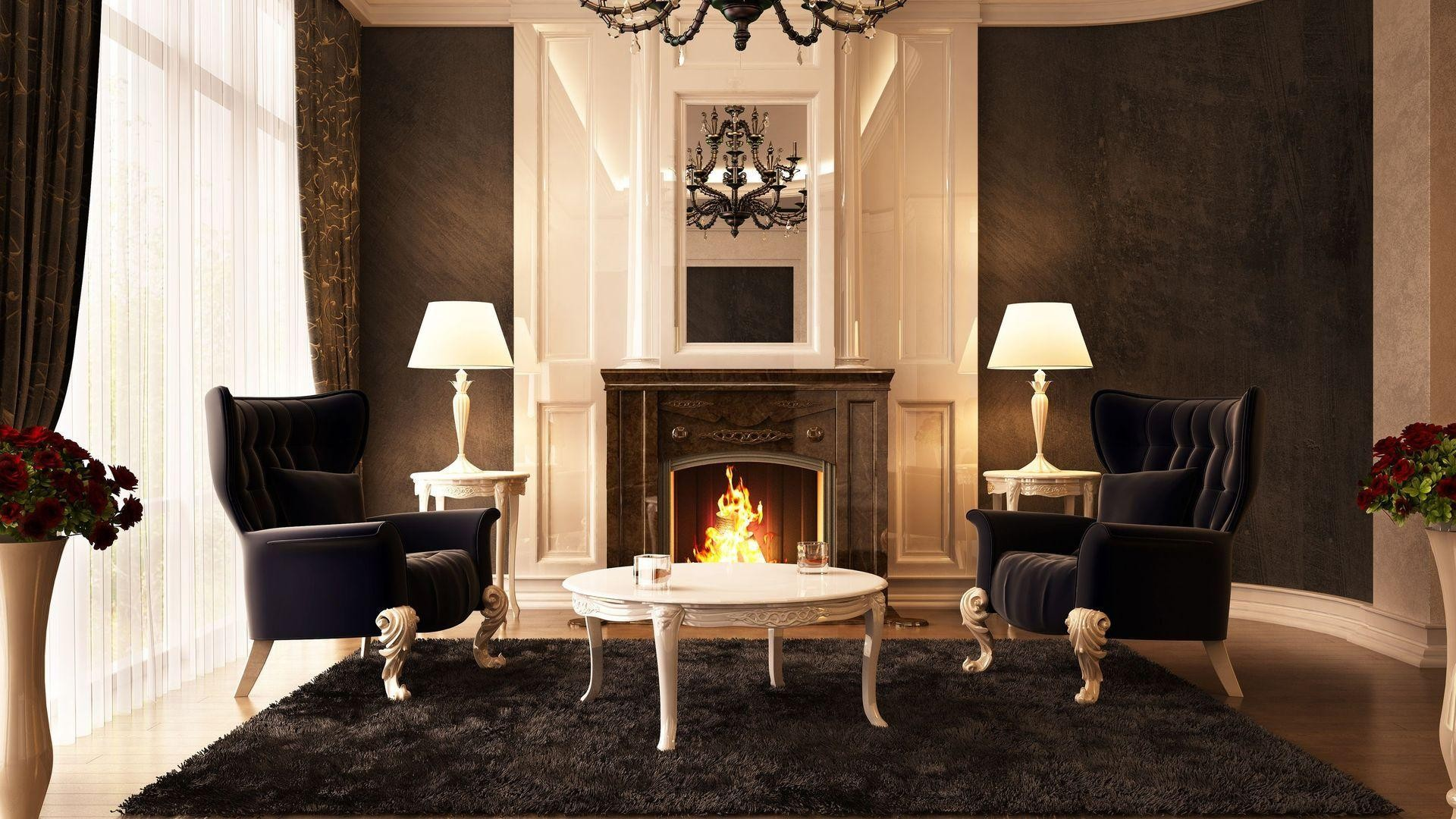 Fireplace Wallpaper 183 ① Download Free Stunning Hd