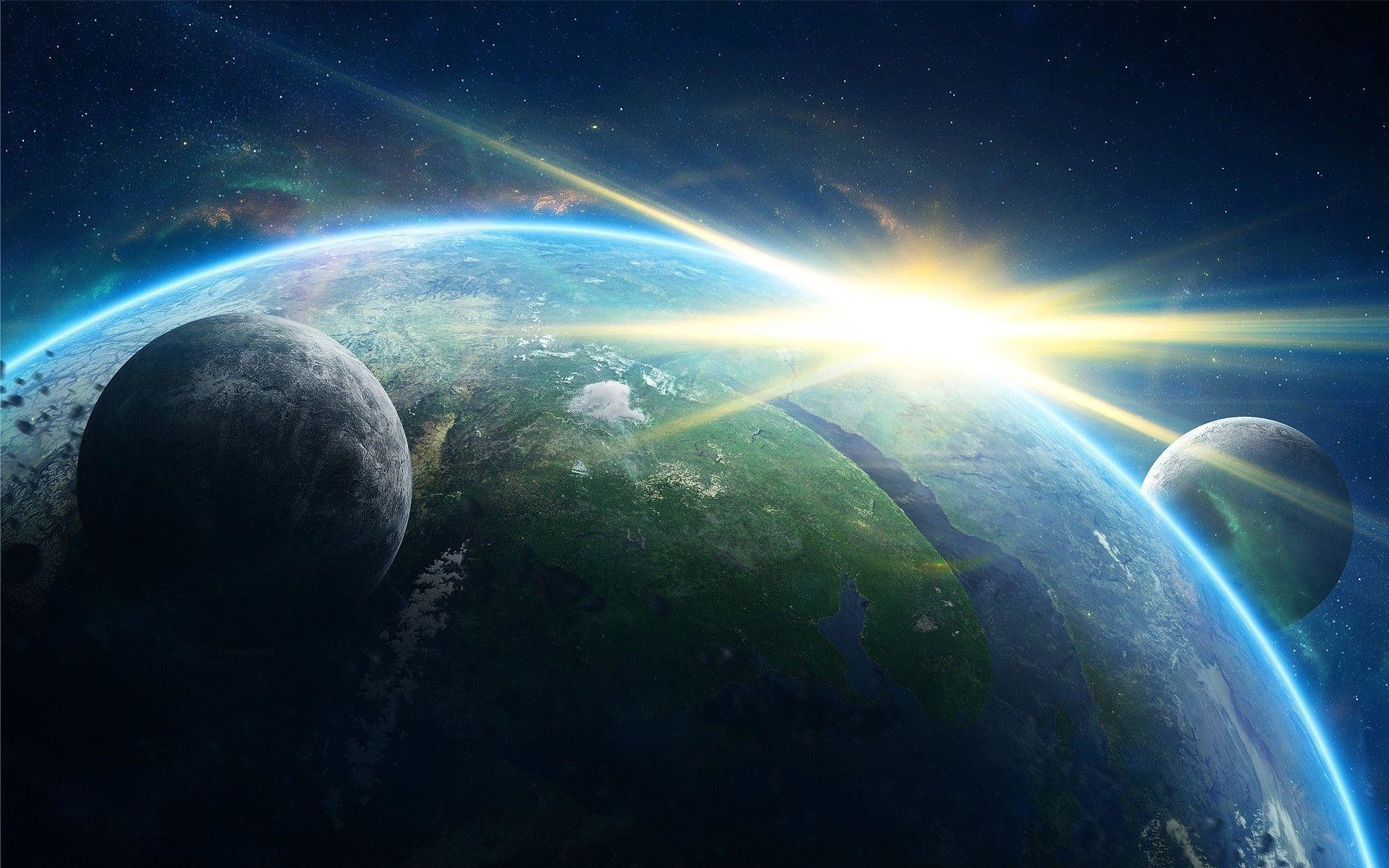 Outer Space Desktop Wallpaper: Outer Space Wallpapers ·① WallpaperTag