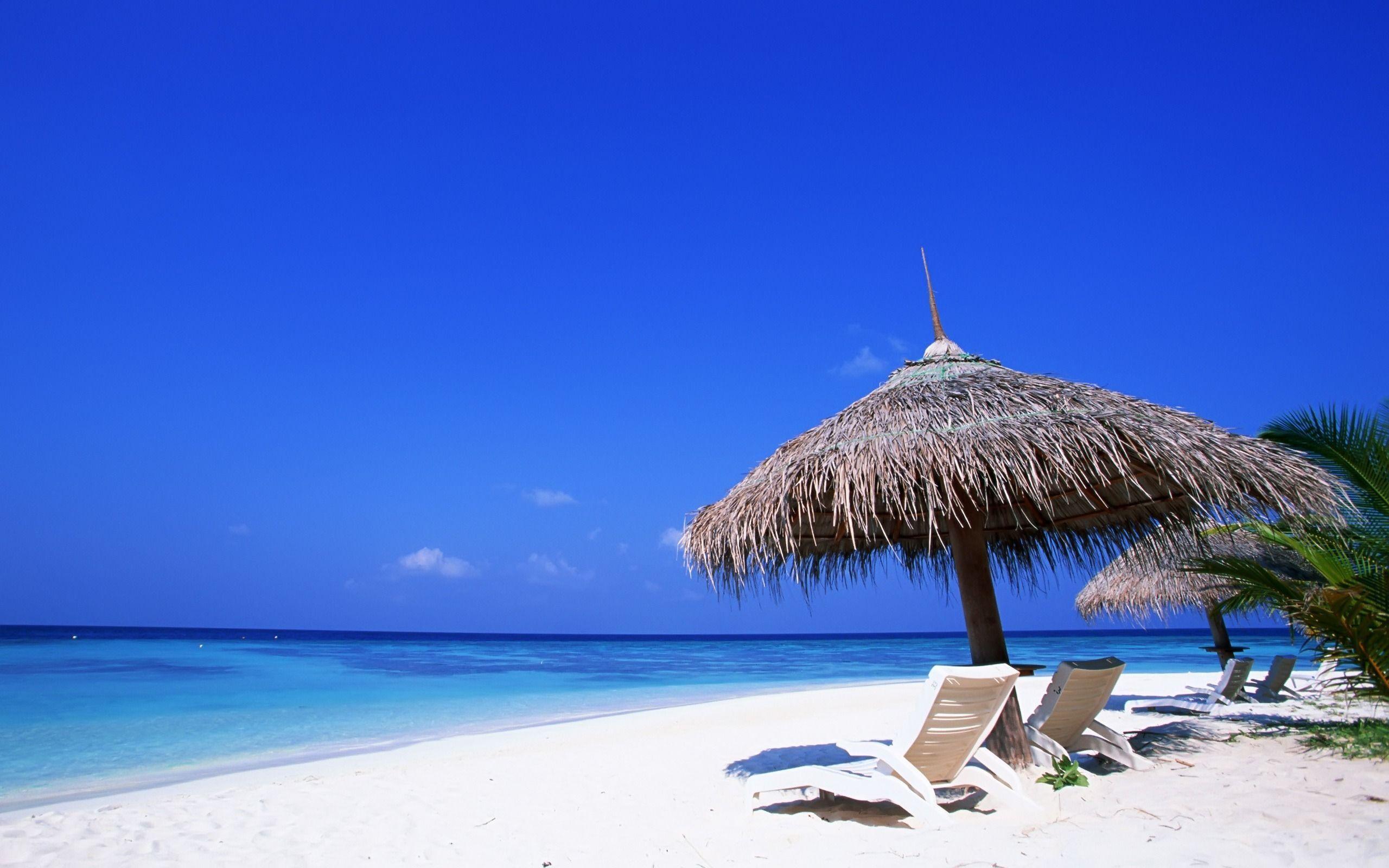 Tropical Beach Desktop Wallpaper 1