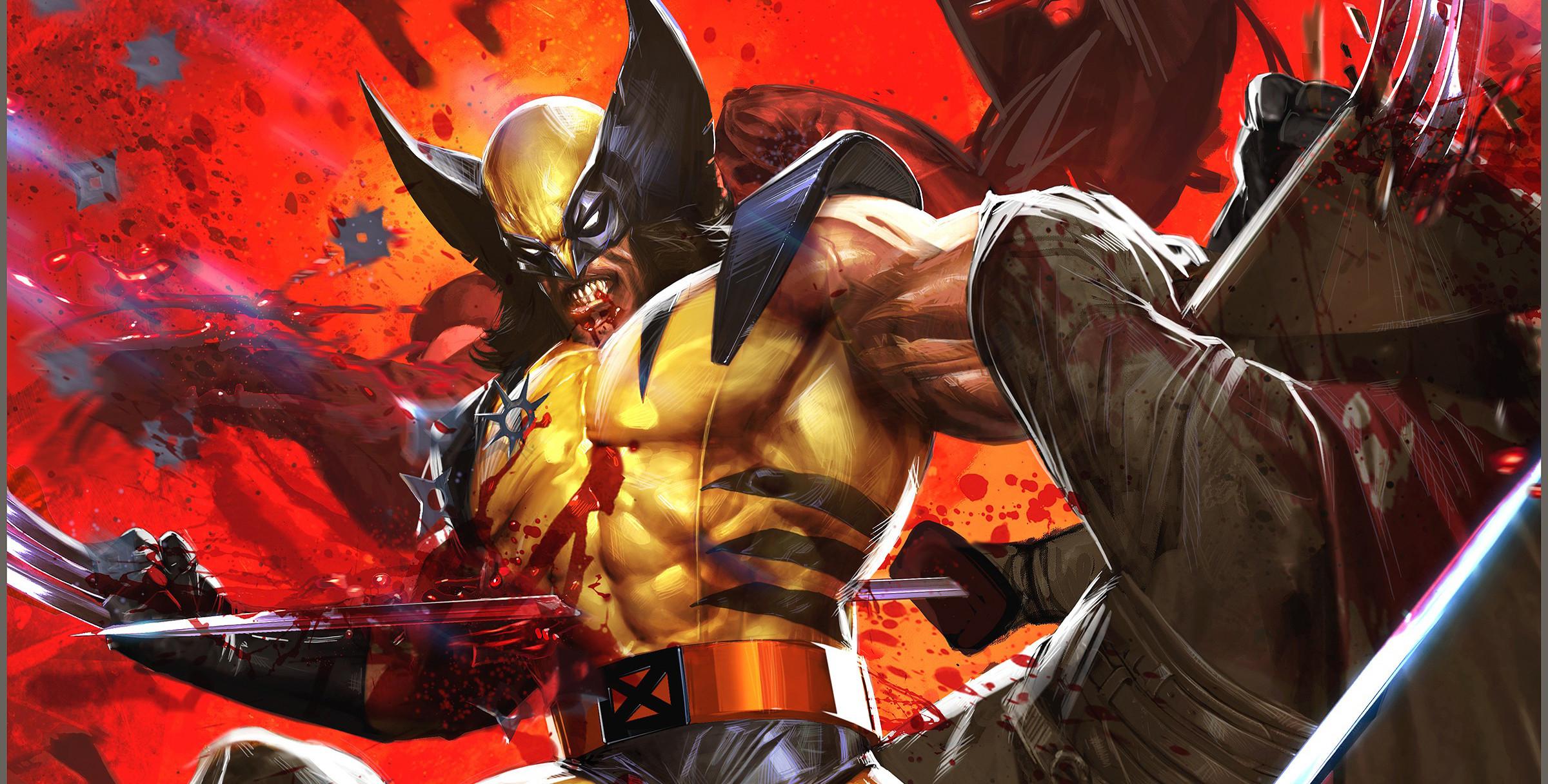 Wolverine Comic Wallpaper 1