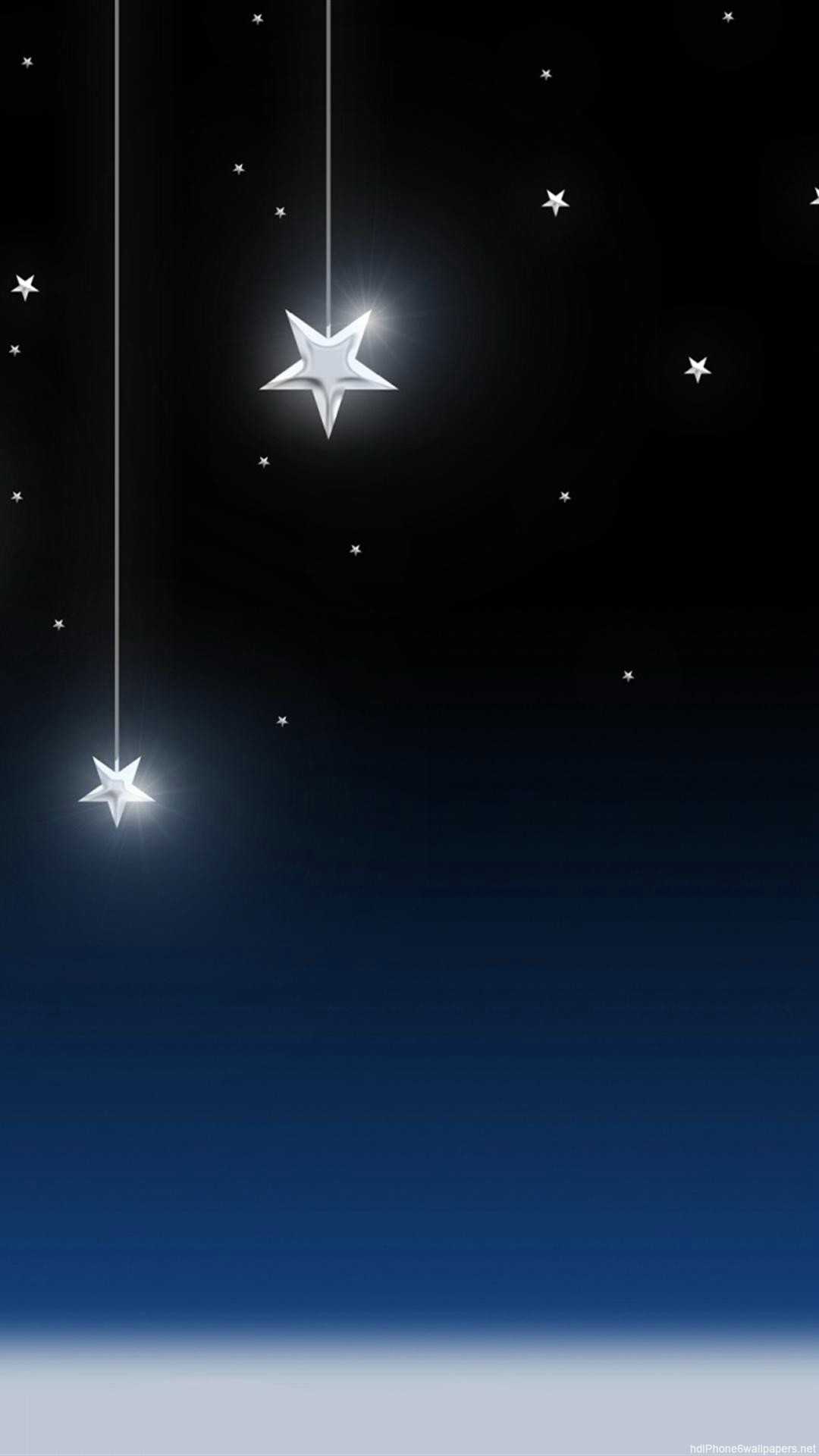 Moon and Stars Background ·①