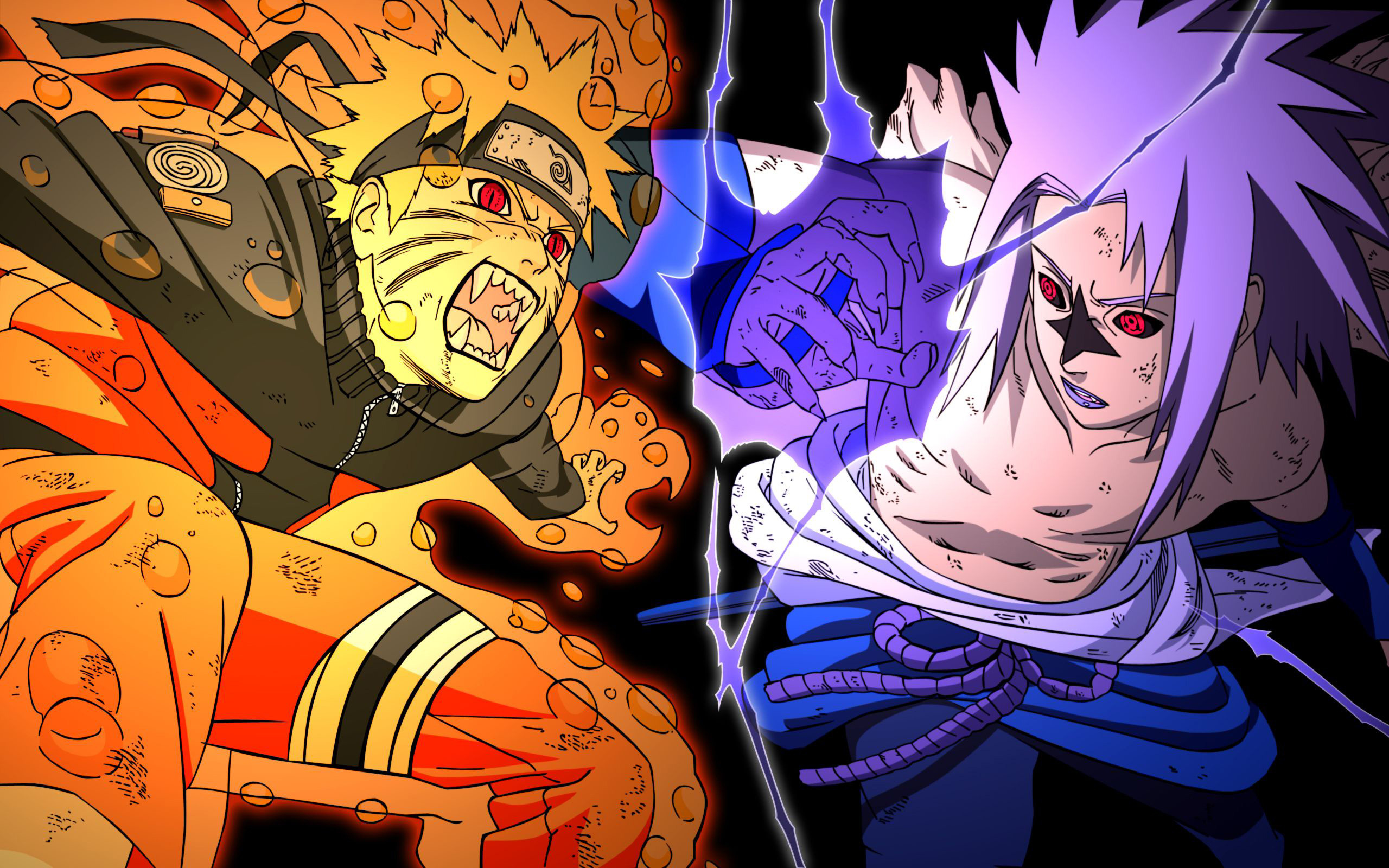Naruto And Sasuke Wallpaper Wallpapertag