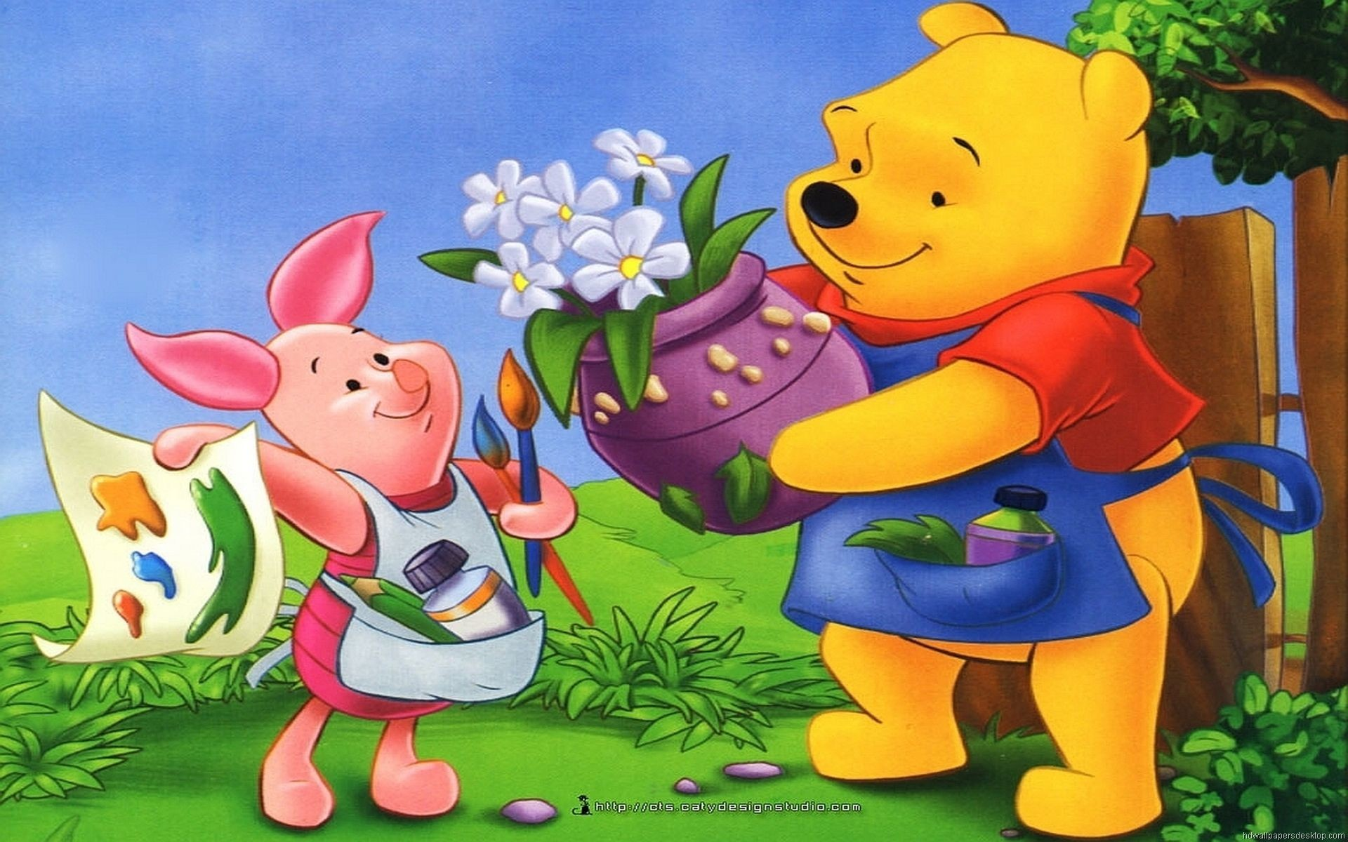 My friends tigger pooh wallpapers wallpapertag - Winnie the pooh and friends wallpaper ...