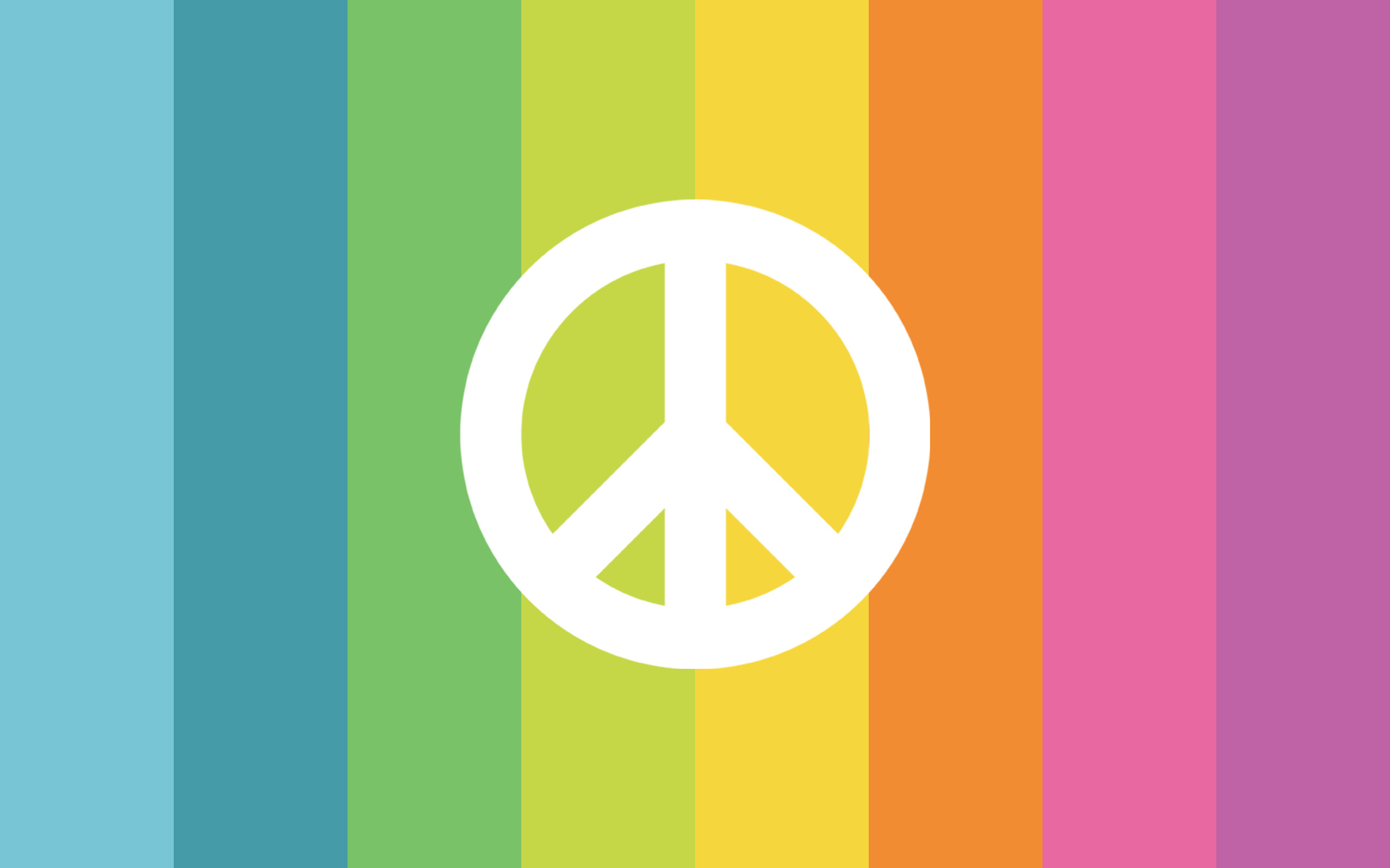 Colorful peace sign backgrounds 2560x1600 peace sign desktop backgrounds wallpaper cave download voltagebd Gallery
