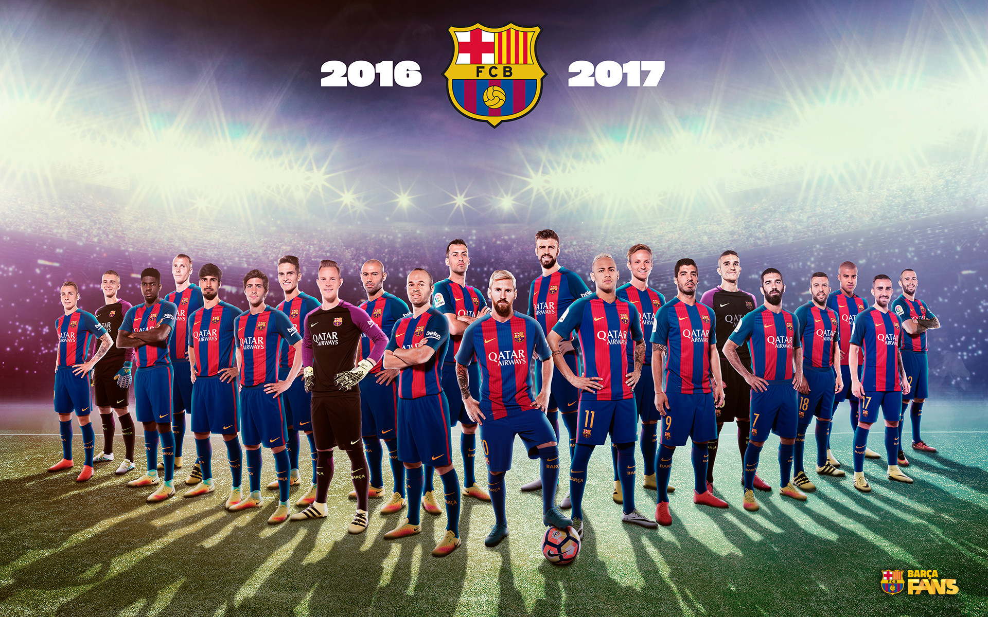 fc barcelona wallpaper 2017 ·①