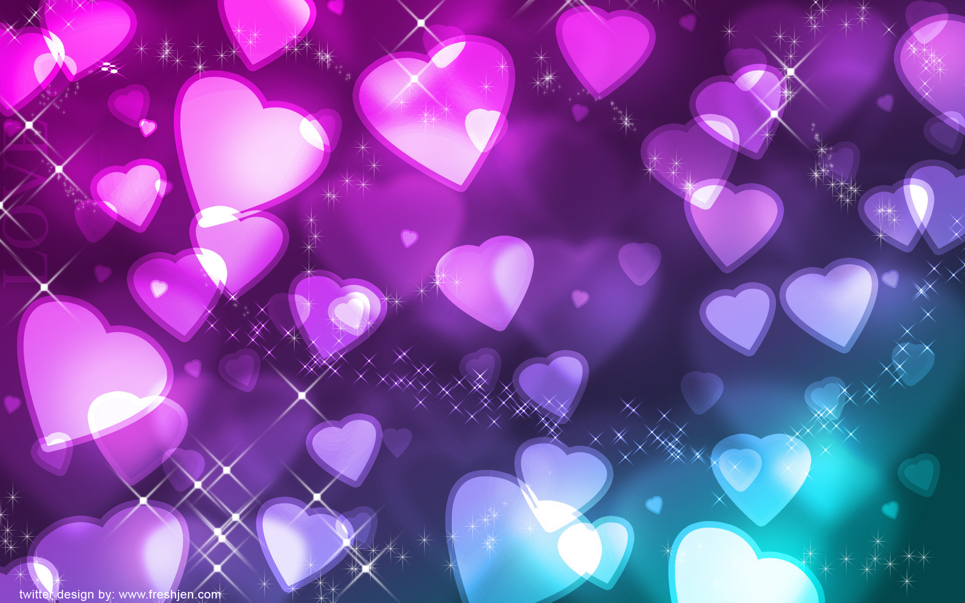 Pretty Heart Backgrounds ·① WallpaperTag