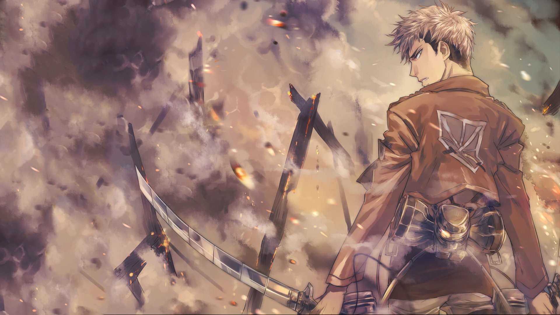 Attack On Titan Wallpaper Download Free Beautiful High