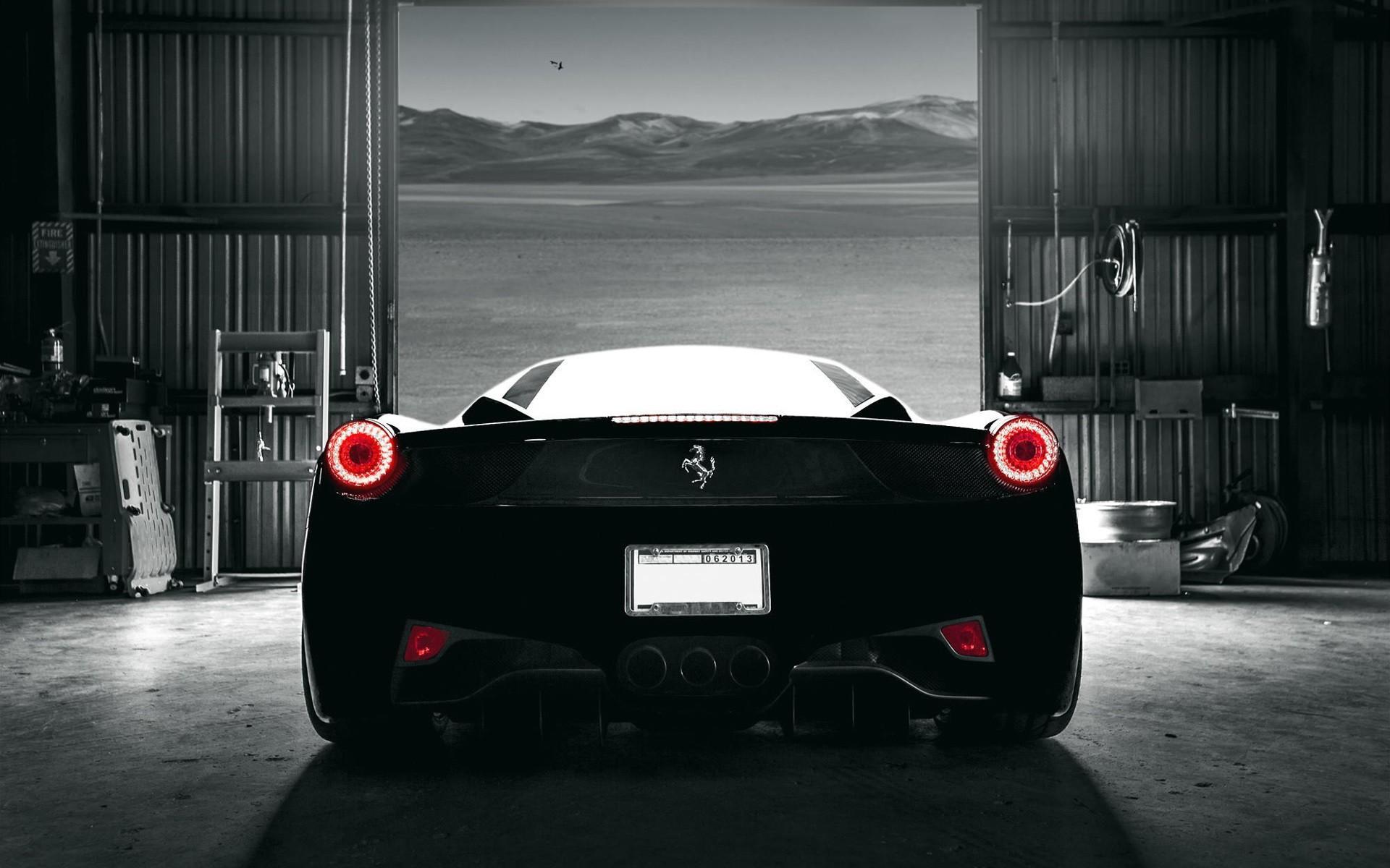 Black Ferrari Wallpaper Wallpapertag