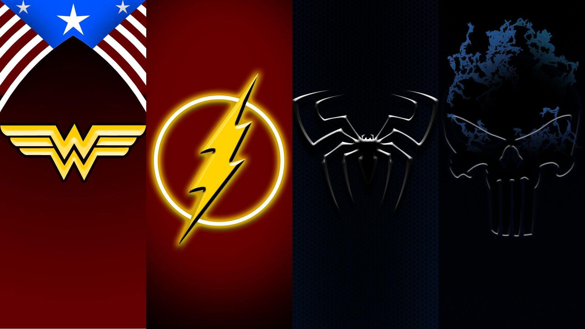 Wonder Woman Logo Wallpaper 183 ①