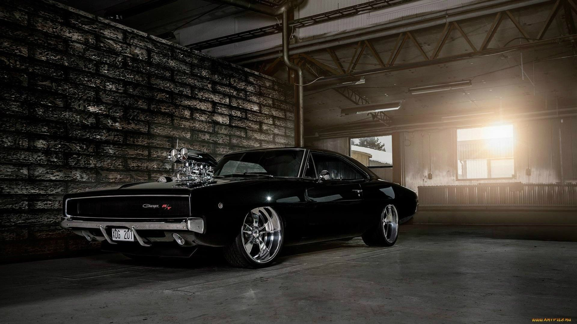 1969 Dodge Charger Wallpaper Wallpapertag