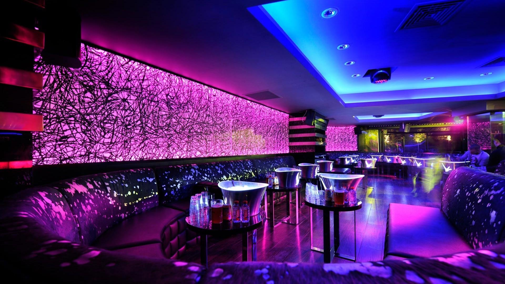 club background hd desktop night lounge neon wonderful lights wallpapers wallpapertag resolution