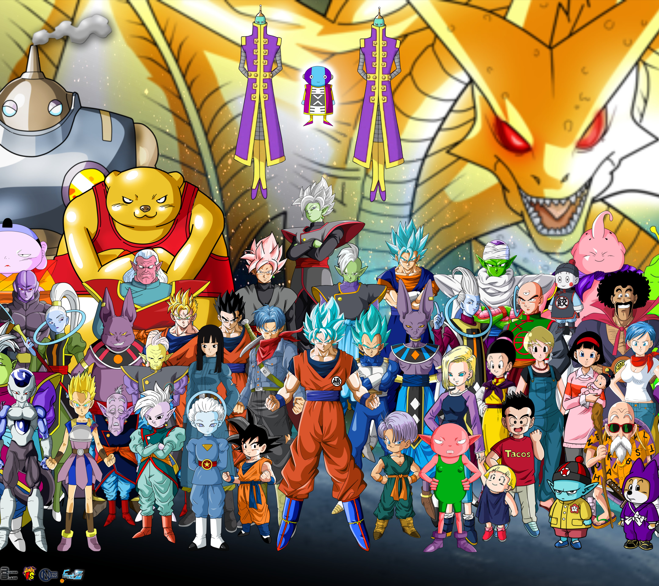 Dragon Ball Super Christmas Wallpaper: Dragon Ball Super Wallpapers ·① WallpaperTag