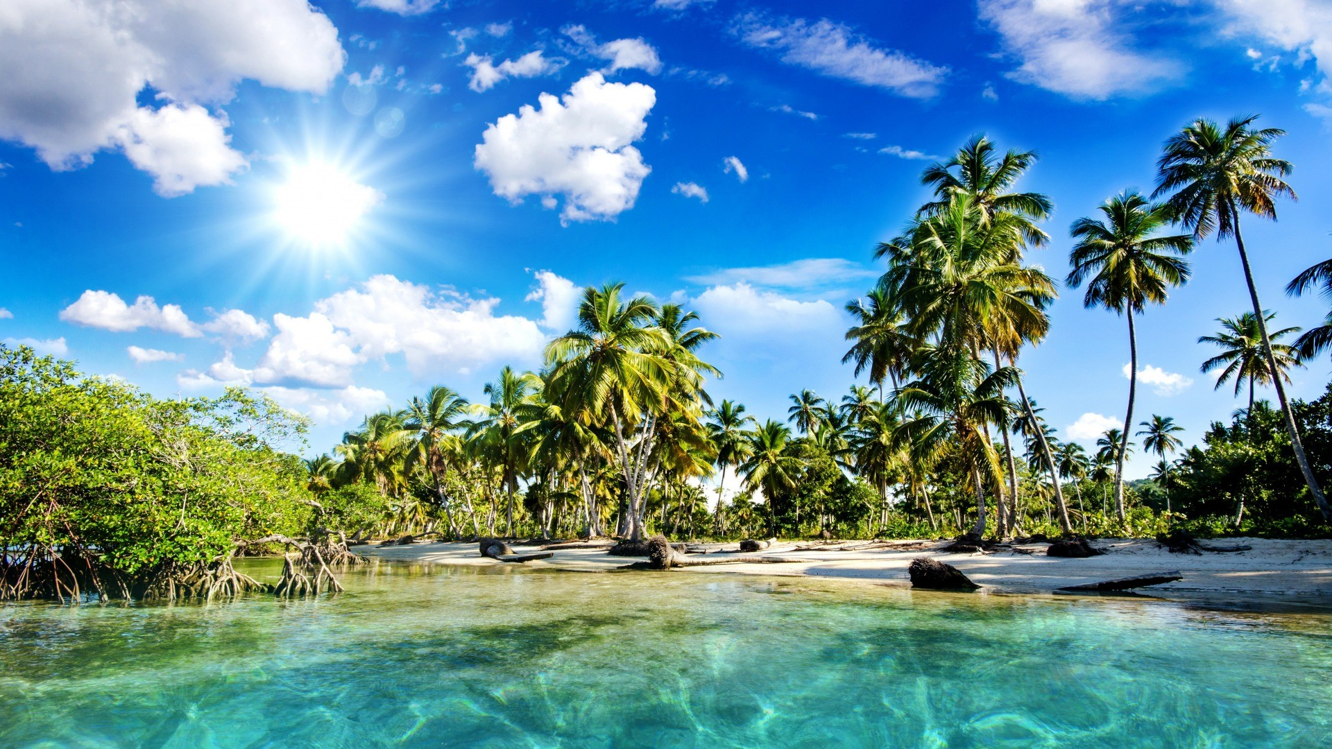 10 Best Tropical Beach Desktop Backgrounds Full Hd 1920: Tropical Beach Wallpaper Desktop ·① WallpaperTag