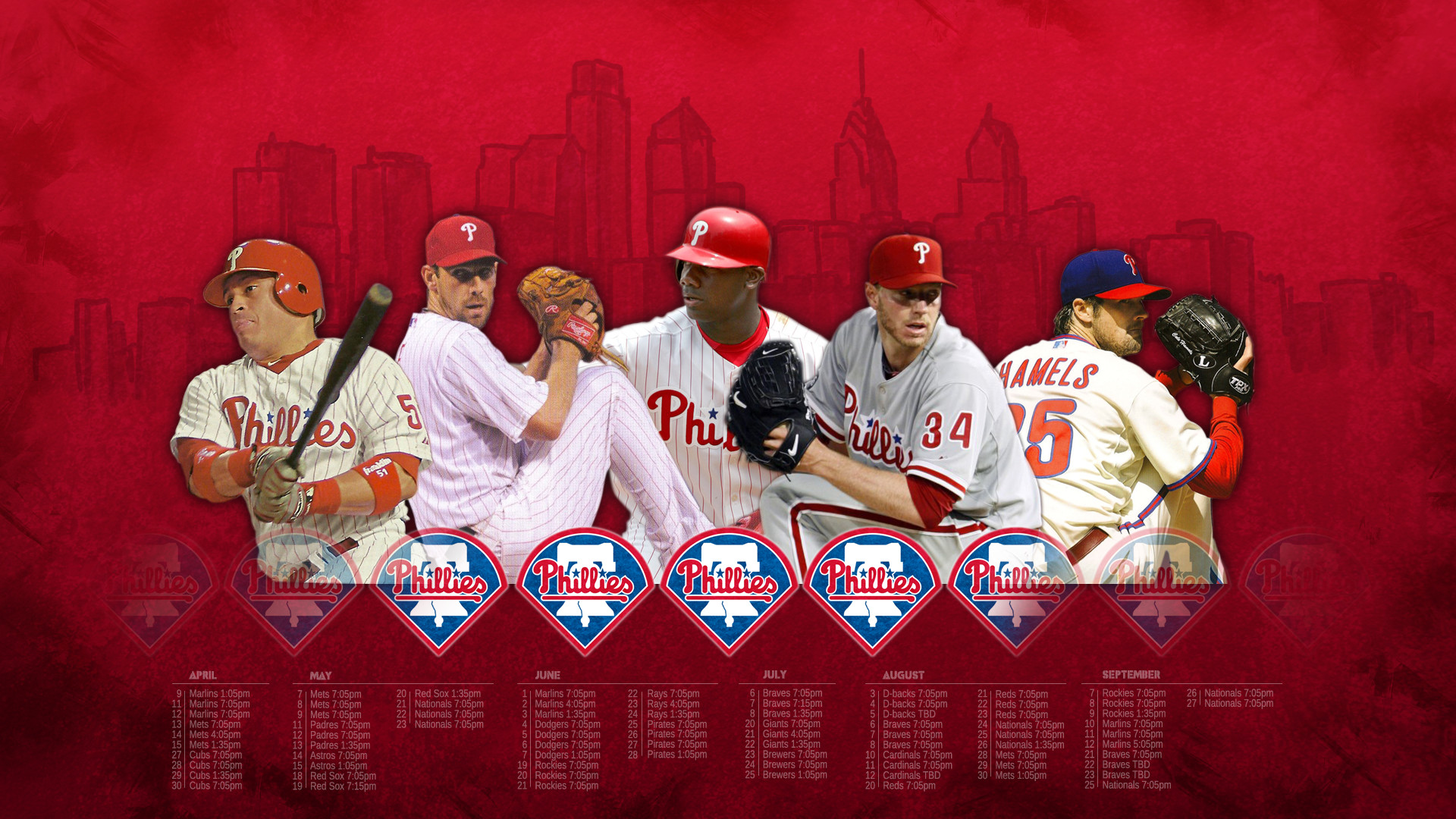1920x1080 Phillies Wallpaper Download 7