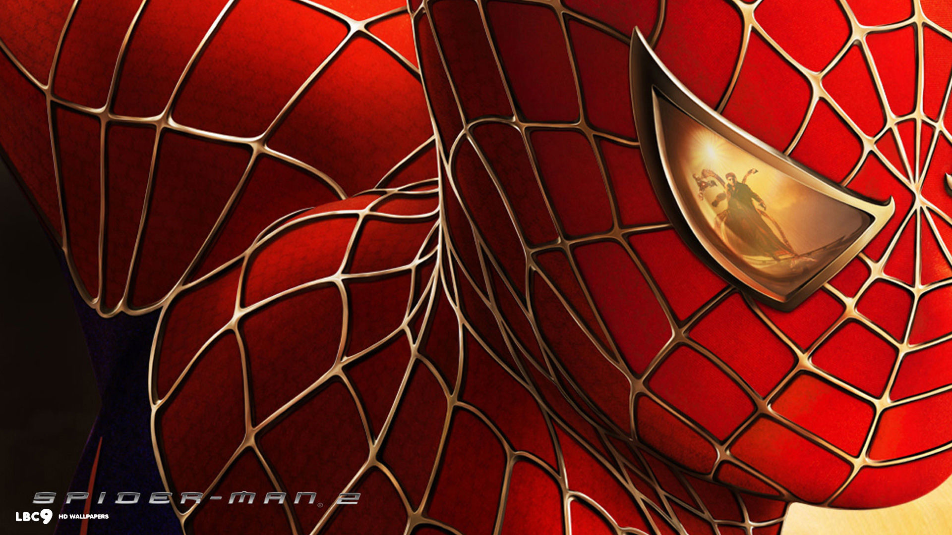 spiderman neon red wallpaper 183��
